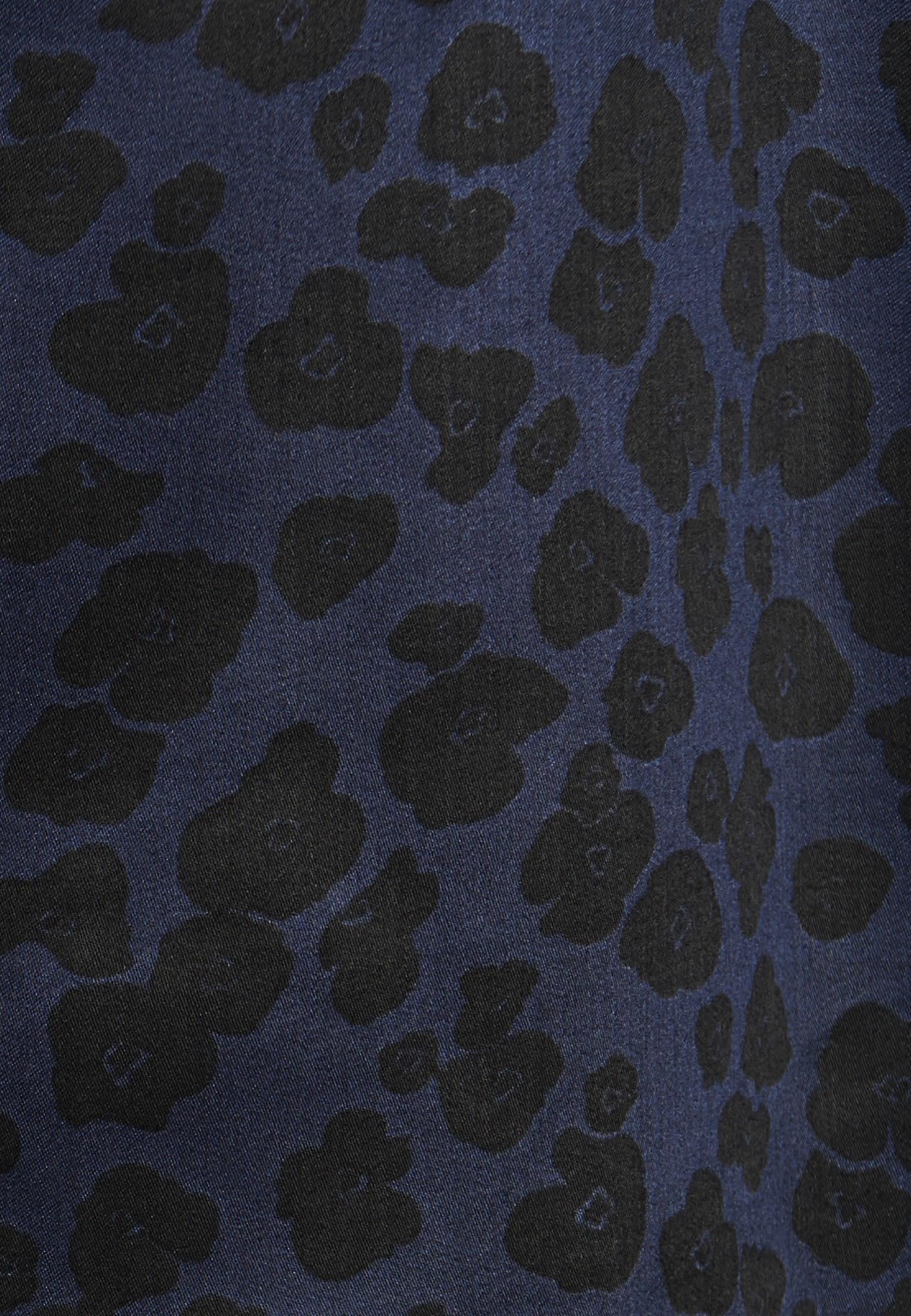 Popeline Hemdbluse aus 100% Viskose in Dunkelblau |  Seidensticker Onlineshop