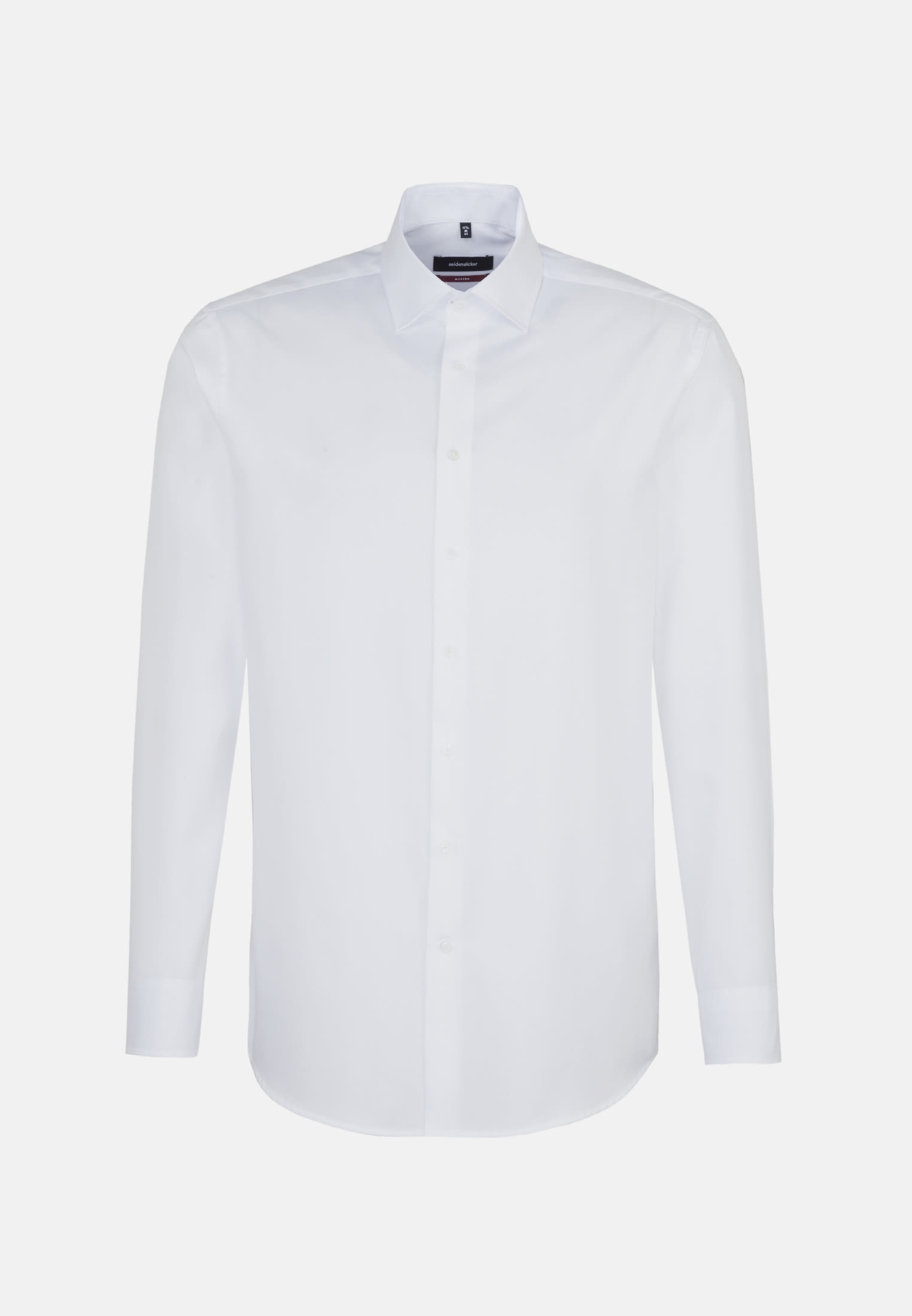 Easy-iron Twill Business Shirt in Modern with Kent-Collar in White |  Seidensticker Onlineshop