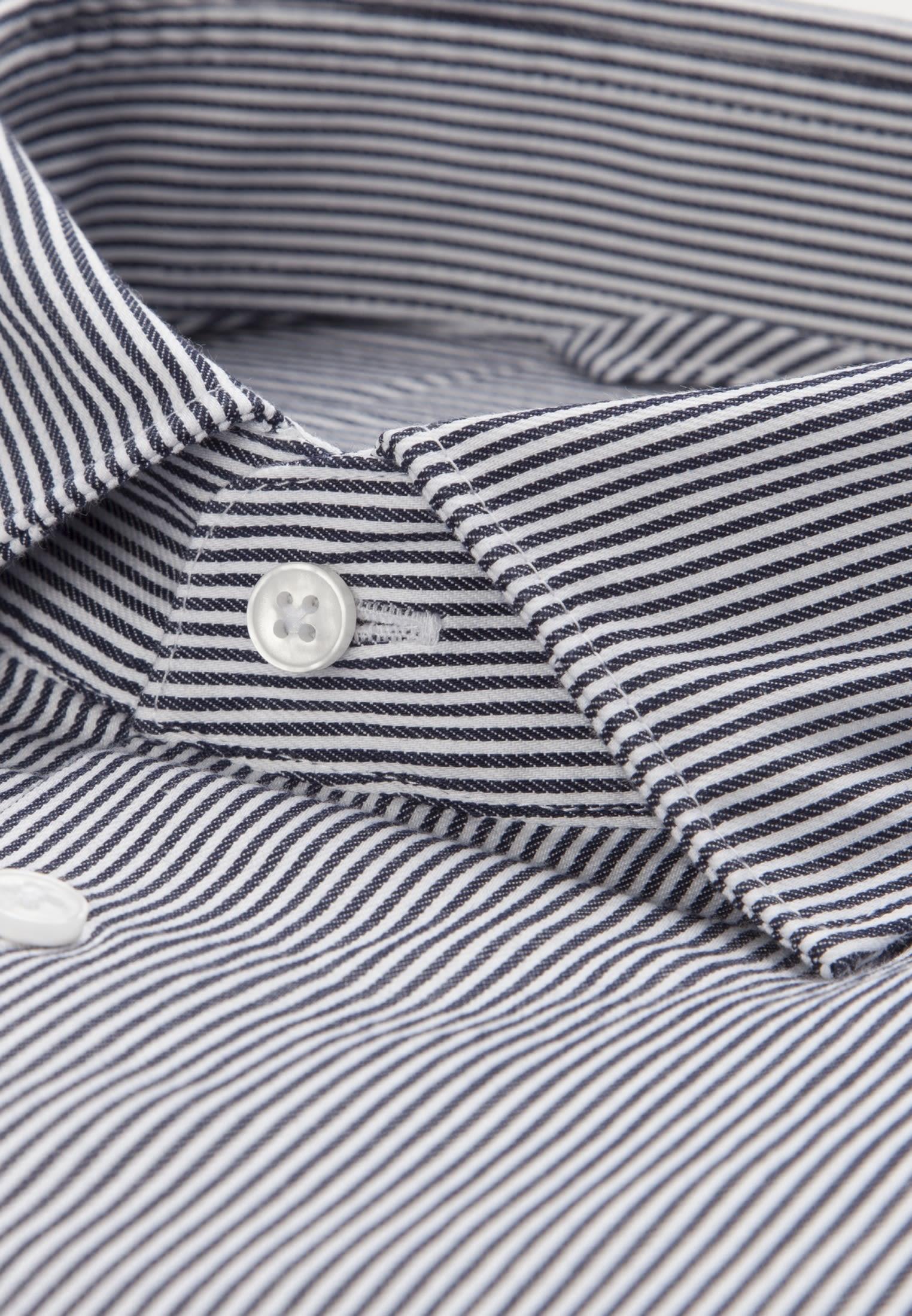 Easy-iron Twill Business Shirt in Modern with Kent-Collar in blau |  Seidensticker Onlineshop
