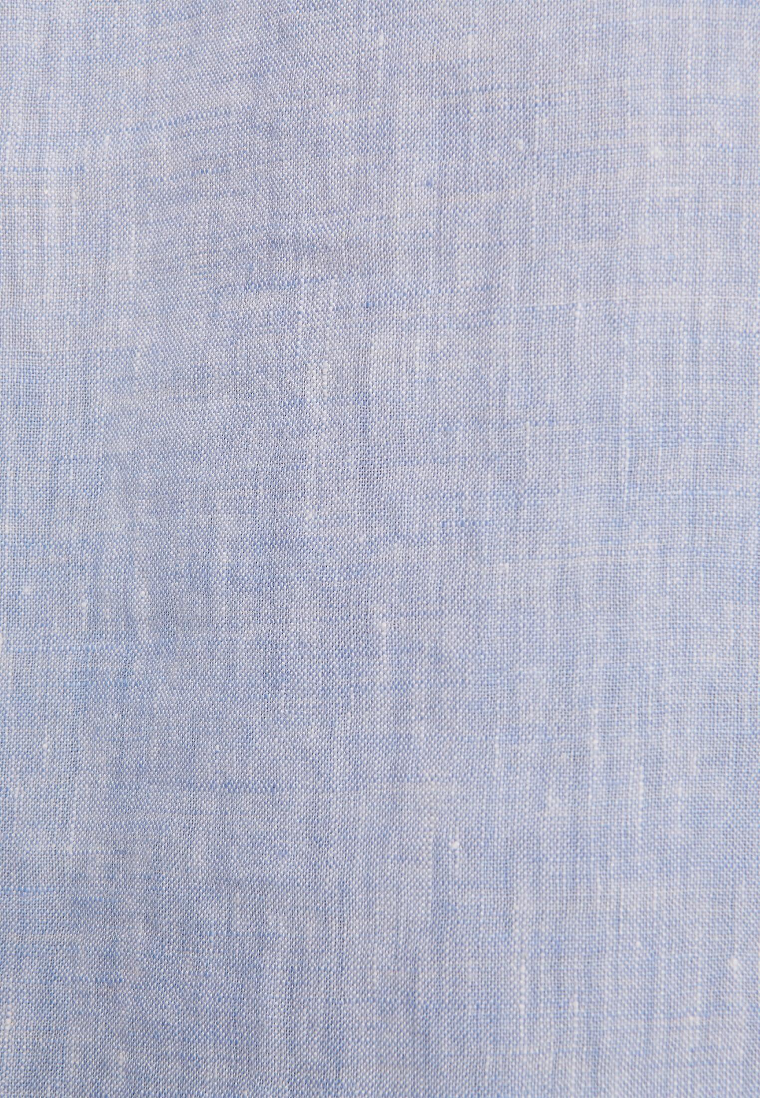 Leinen Schlupfbluse aus 100% Leinen/Flachs in Hellblau |  Seidensticker Onlineshop