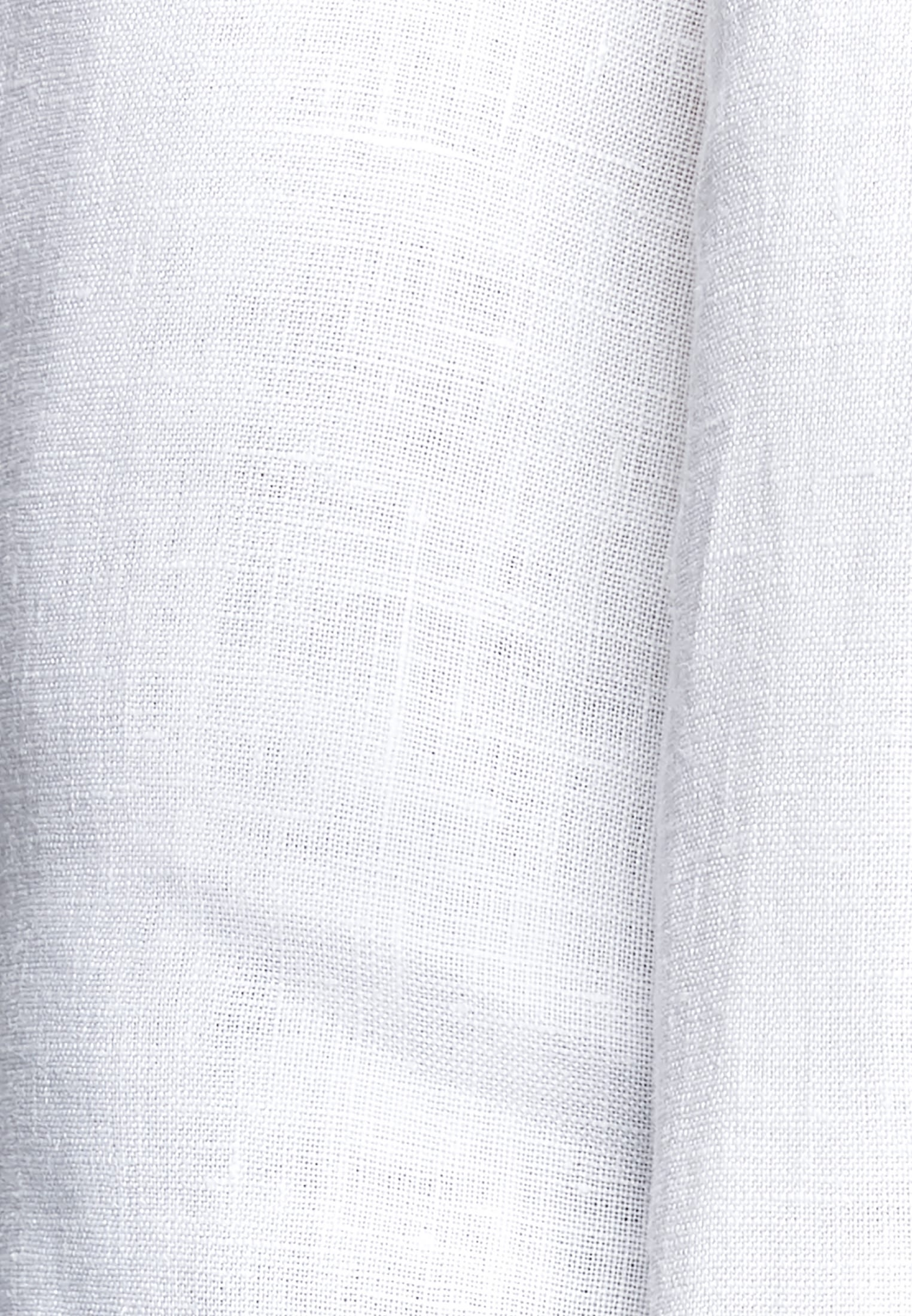 Linen Slip Over Blouse made of 100% Leinen/Flachs in weiß |  Seidensticker Onlineshop
