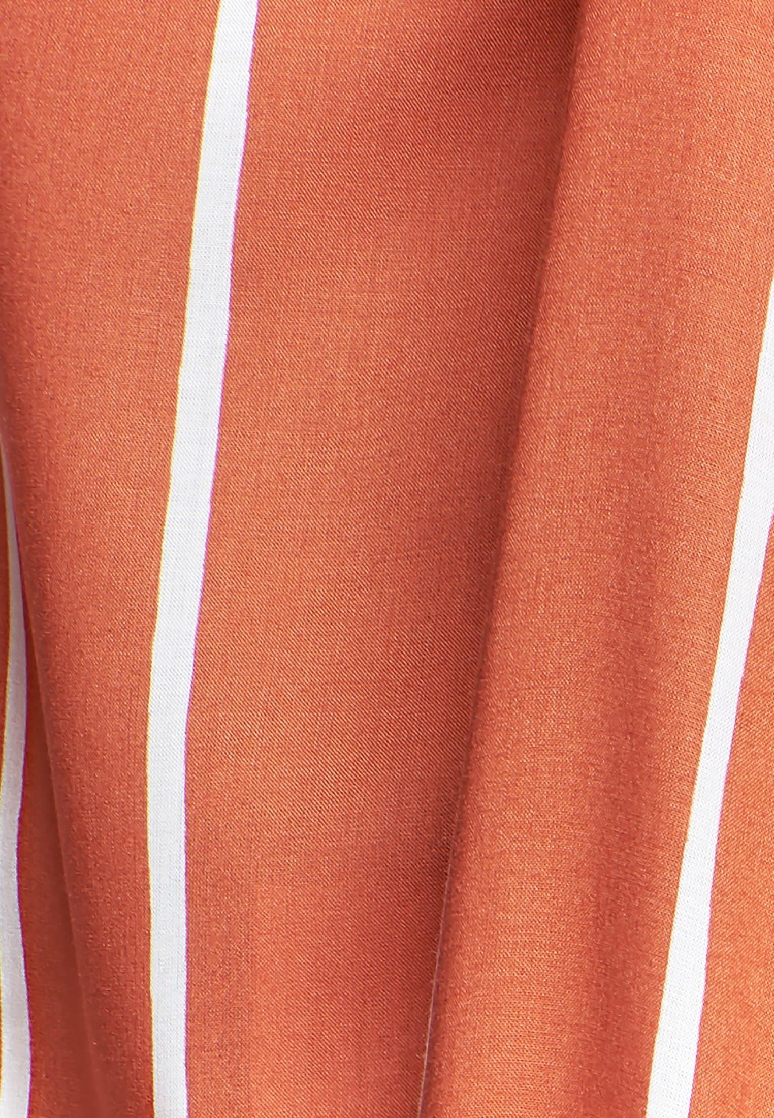 Popeline Hemdbluse aus 100% Viskose in Orange    Seidensticker Onlineshop