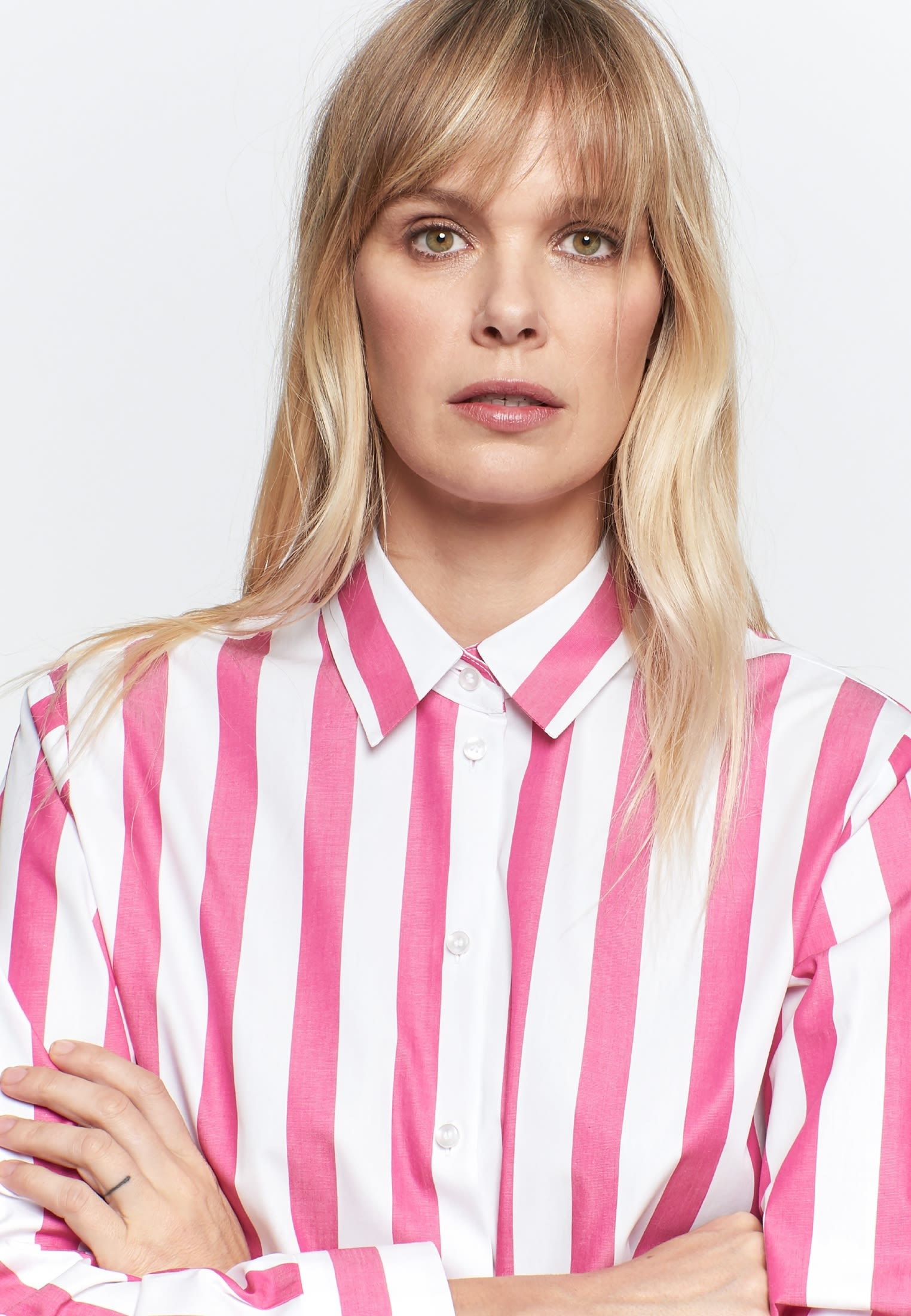 Satin Shirt Blouse made of 100% Cotton in Pink |  Seidensticker Onlineshop