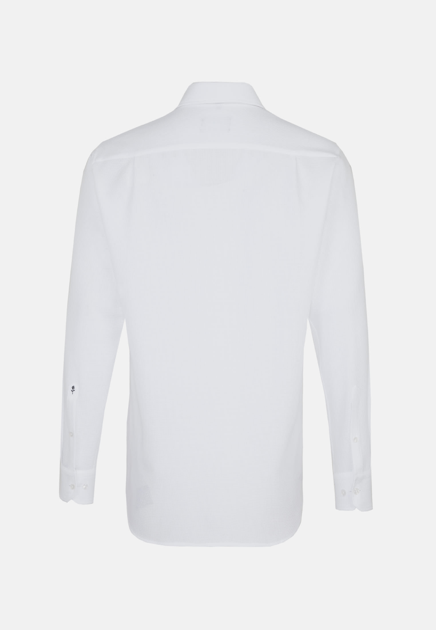 Easy-iron Structure Business Shirt in Modern with Kent-Collar in White |  Seidensticker Onlineshop