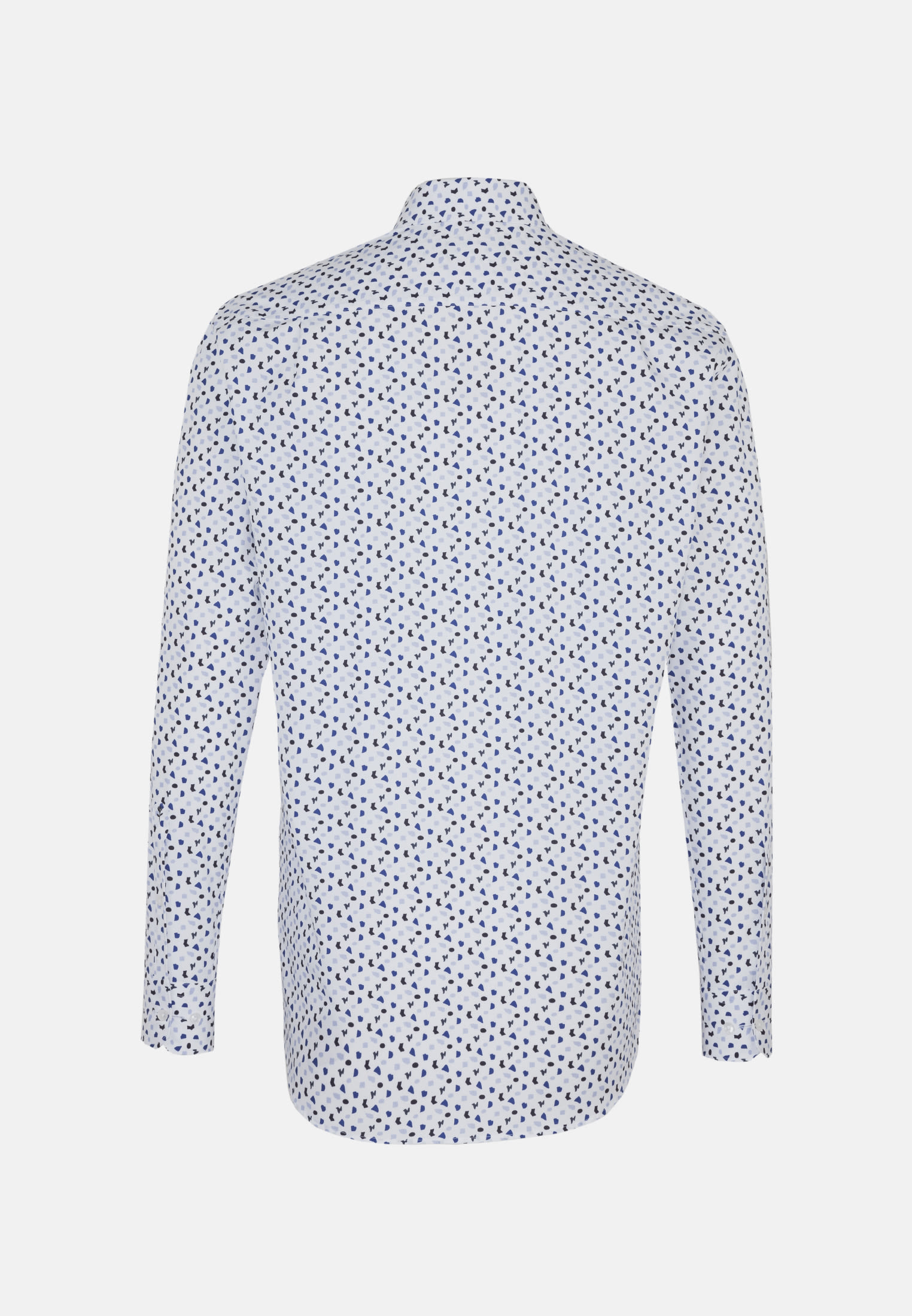 Easy-iron Poplin Business Shirt in Regular with Kent-Collar in Dark blue |  Seidensticker Onlineshop