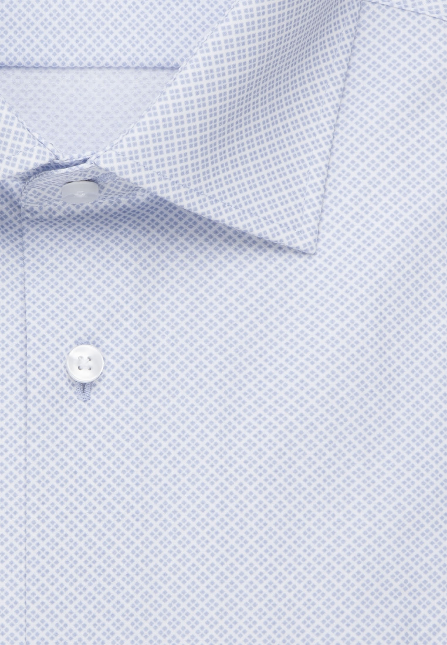 Easy-iron Poplin Business Shirt in Comfort with Kent-Collar and extra long arm in Light blue |  Seidensticker Onlineshop