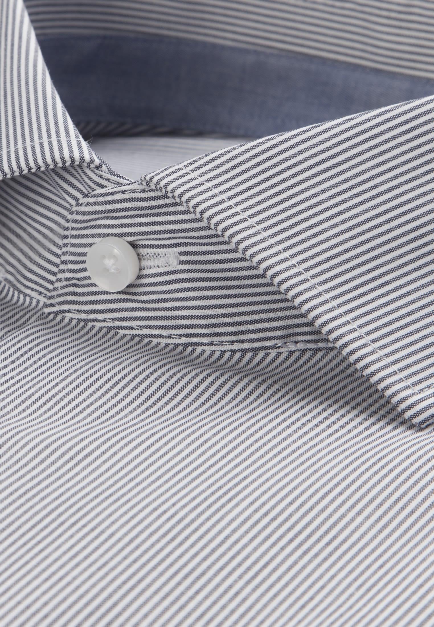 Bügelfreies Popeline Business Hemd in Modern mit Kentkragen in Dunkelblau |  Seidensticker Onlineshop