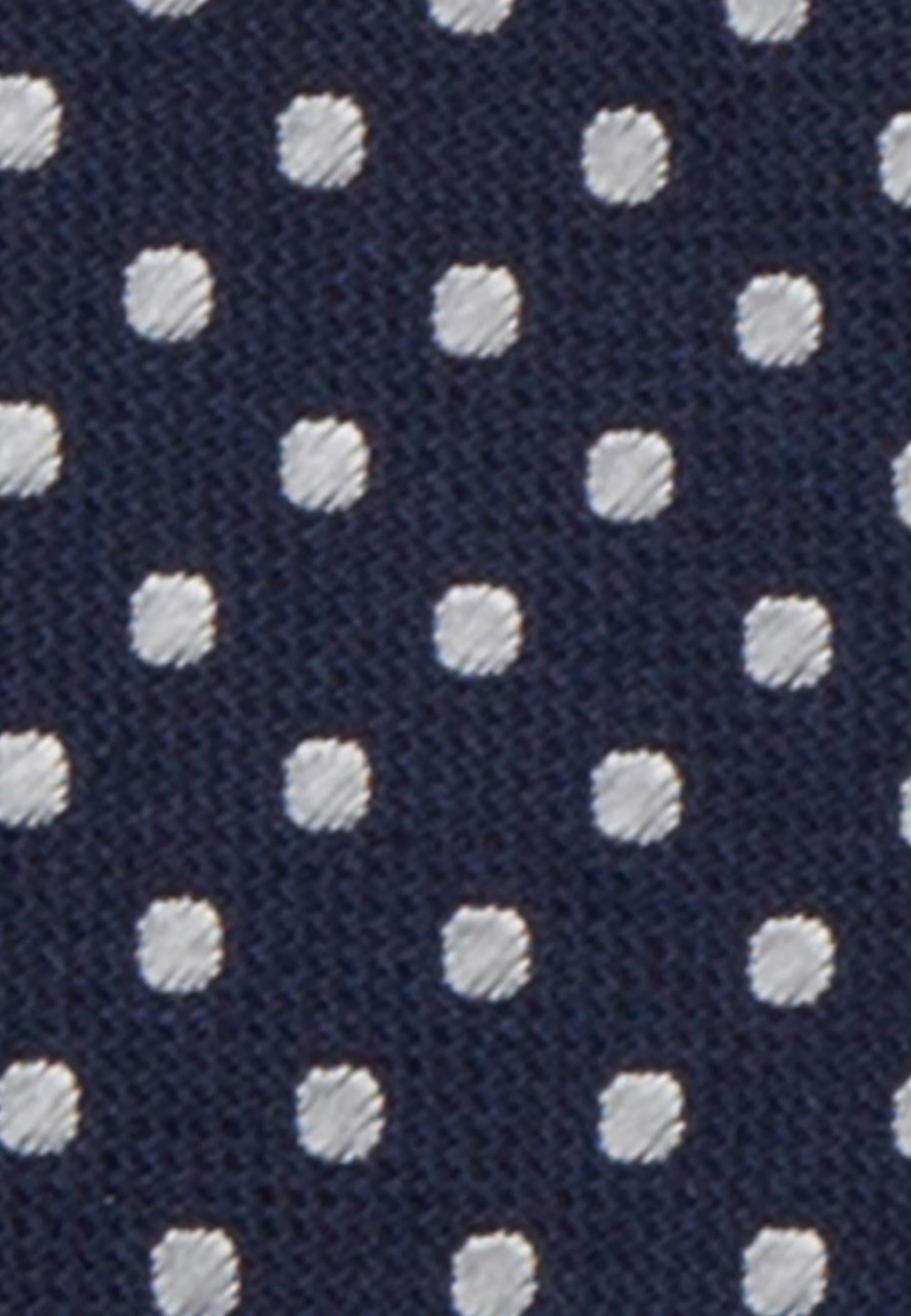 Krawatte aus 100% Seide 5 cm Breit in Dunkelblau    Seidensticker Onlineshop