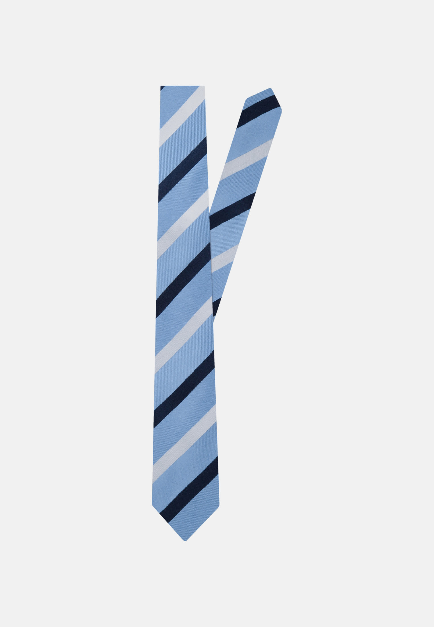 Tie made of 100% Silk 7 cm wide in Light blue |  Seidensticker Onlineshop