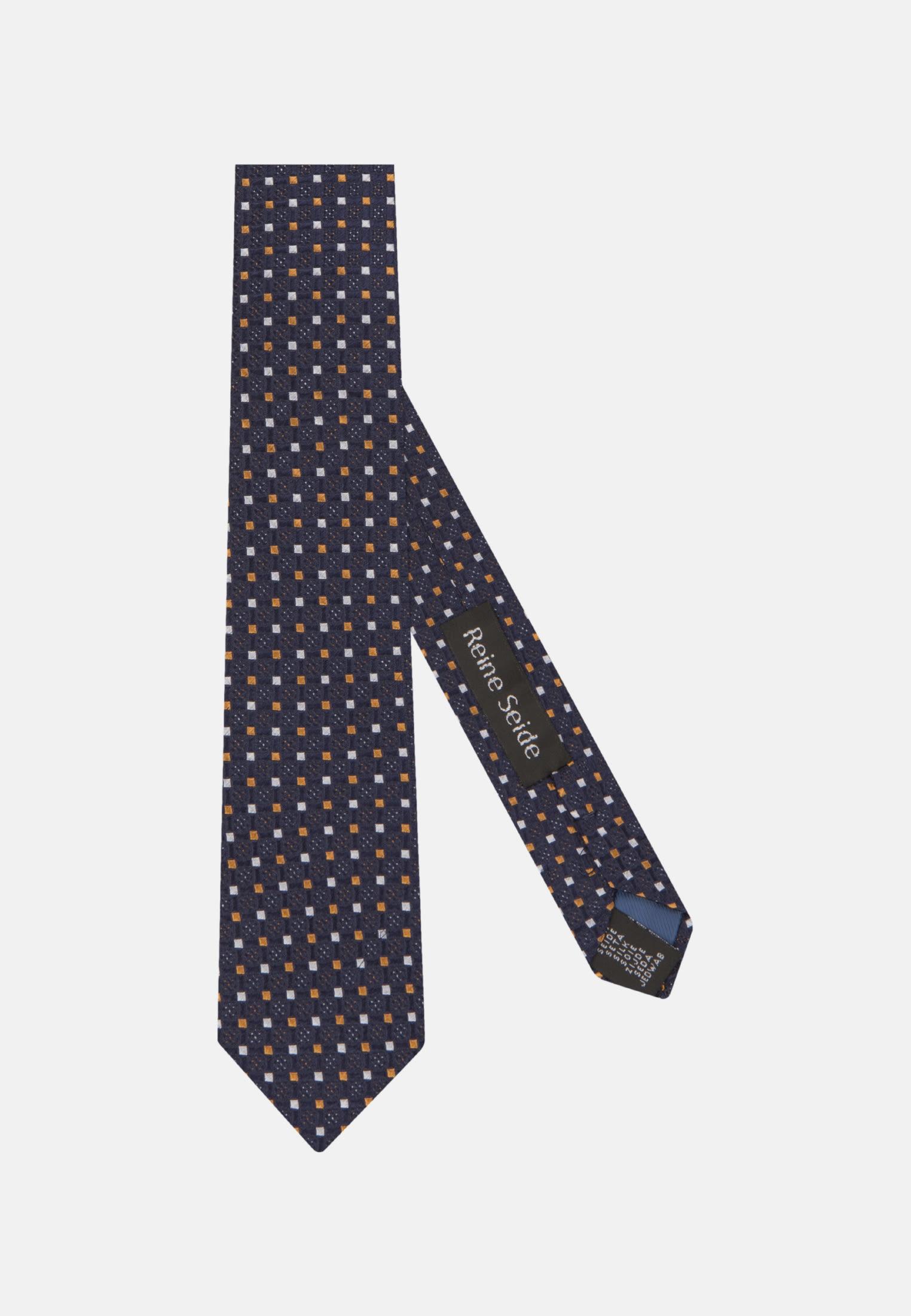 Krawatte aus 100% Seide 7 cm Breit in Orange |  Seidensticker Onlineshop