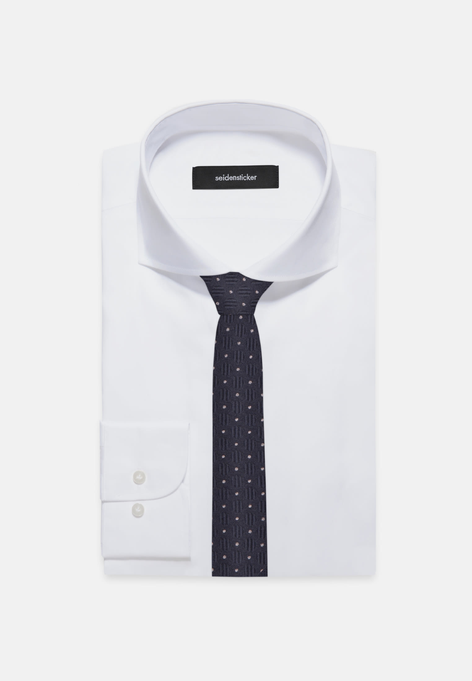 Krawatte aus 100% Seide 5 cm Breit in Rosa/Pink    Seidensticker Onlineshop