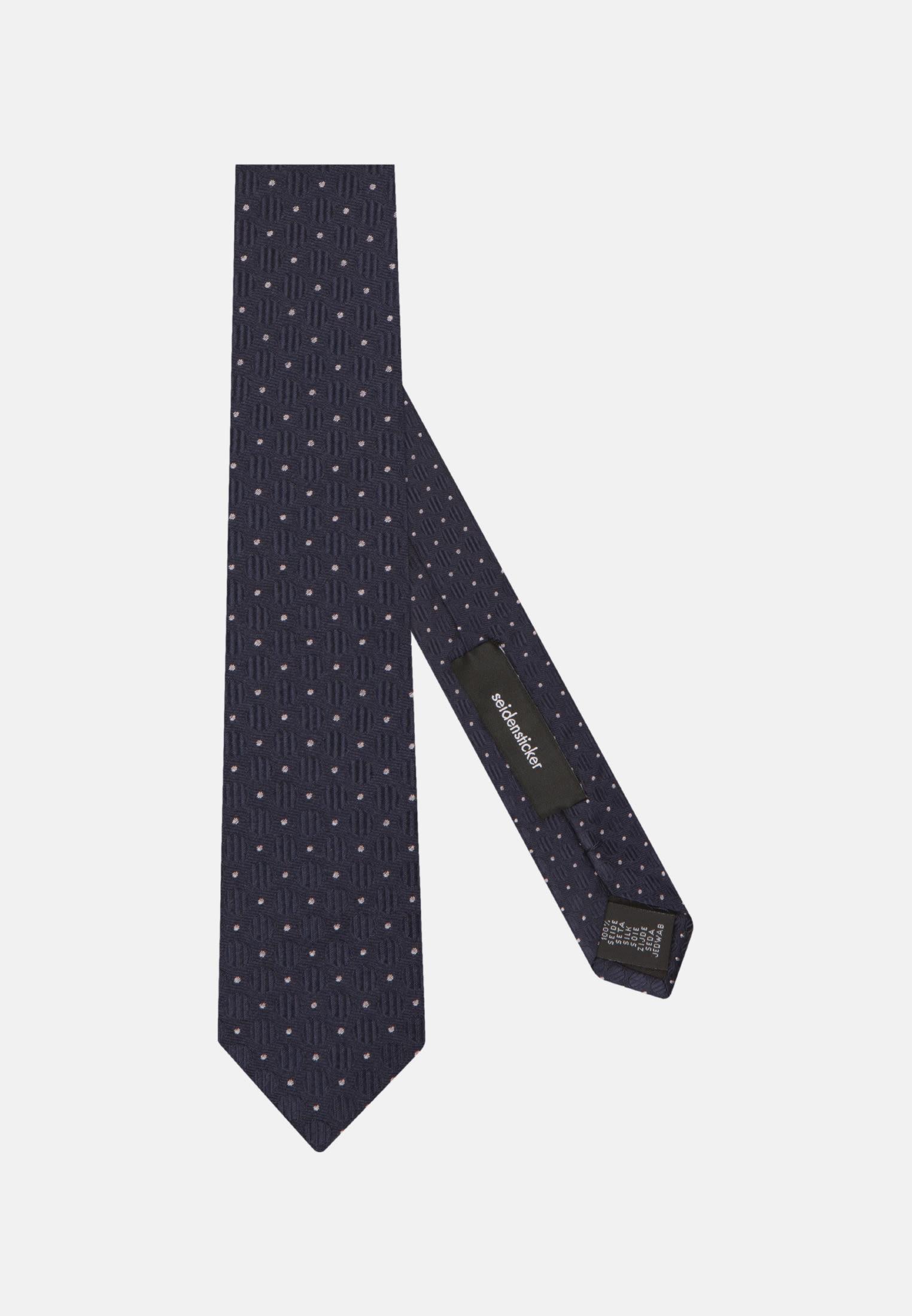 Krawatte aus 100% Seide 5 cm Breit in Rosa/Pink |  Seidensticker Onlineshop