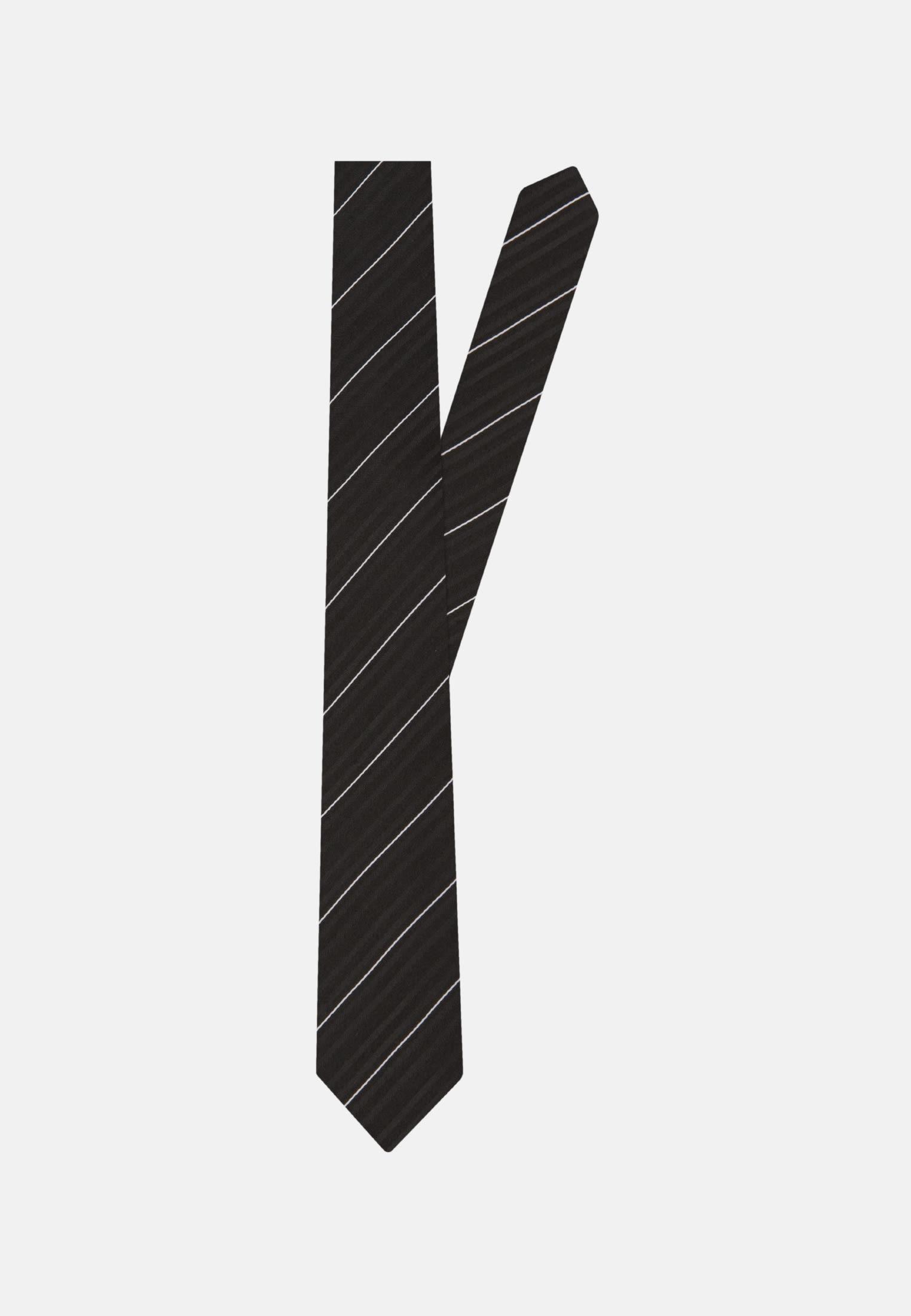 Krawatte aus 100% Seide 7 cm Breit in Schwarz |  Seidensticker Onlineshop
