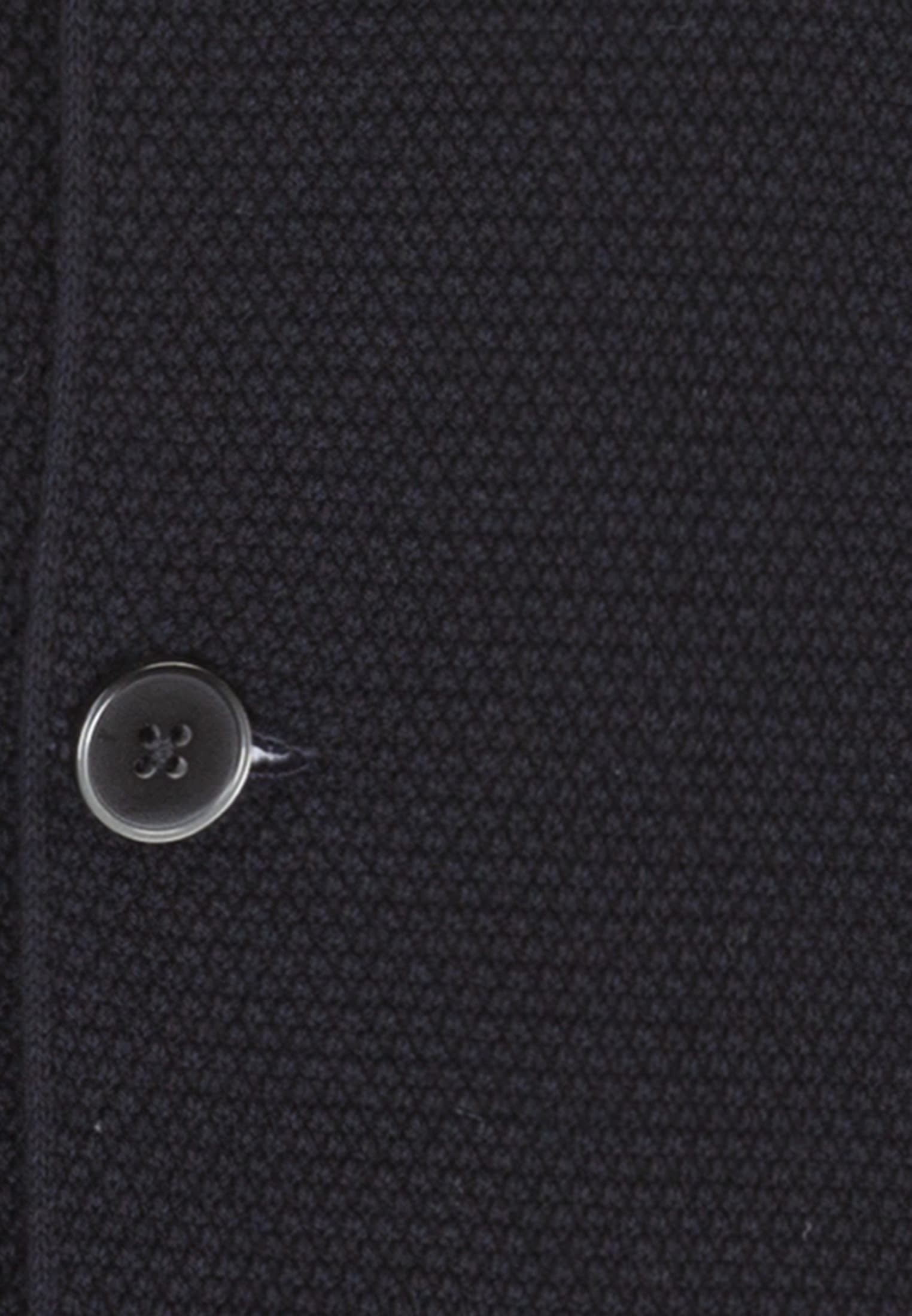 Collar Jacket made of 100% Cotton in Dark blue |  Seidensticker Onlineshop