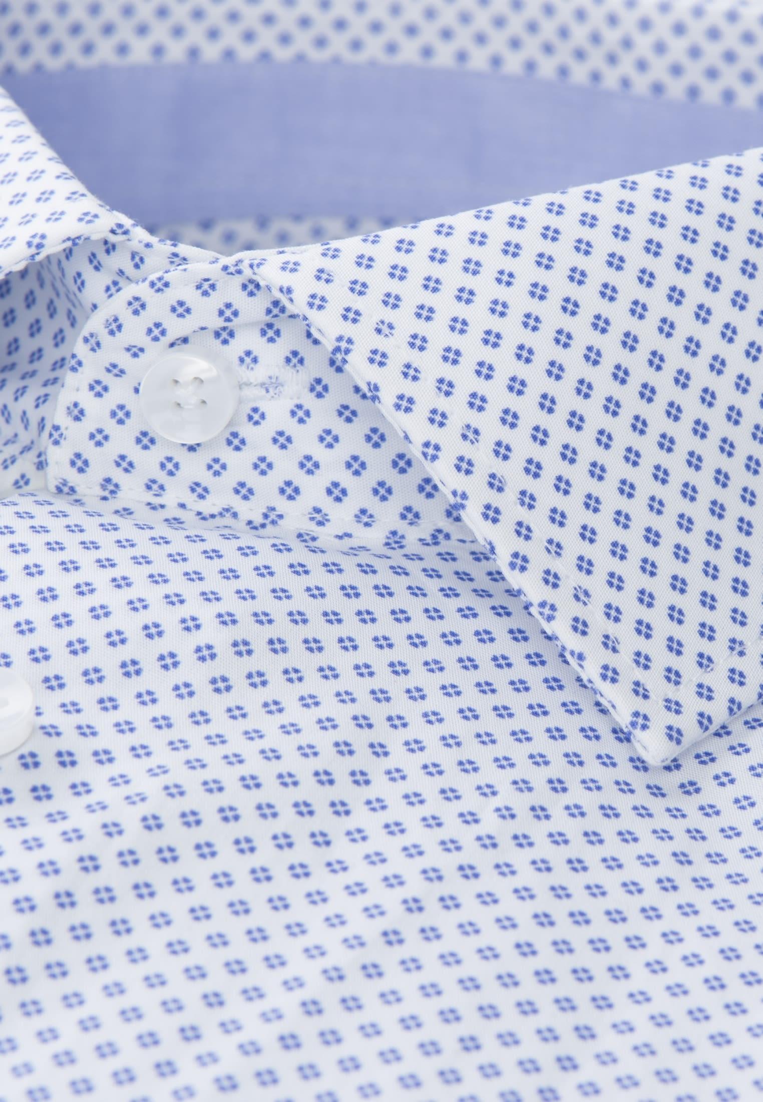 Bügelleichtes Popeline Business Hemd in Tailored mit Kentkragen in Hellblau |  Seidensticker Onlineshop