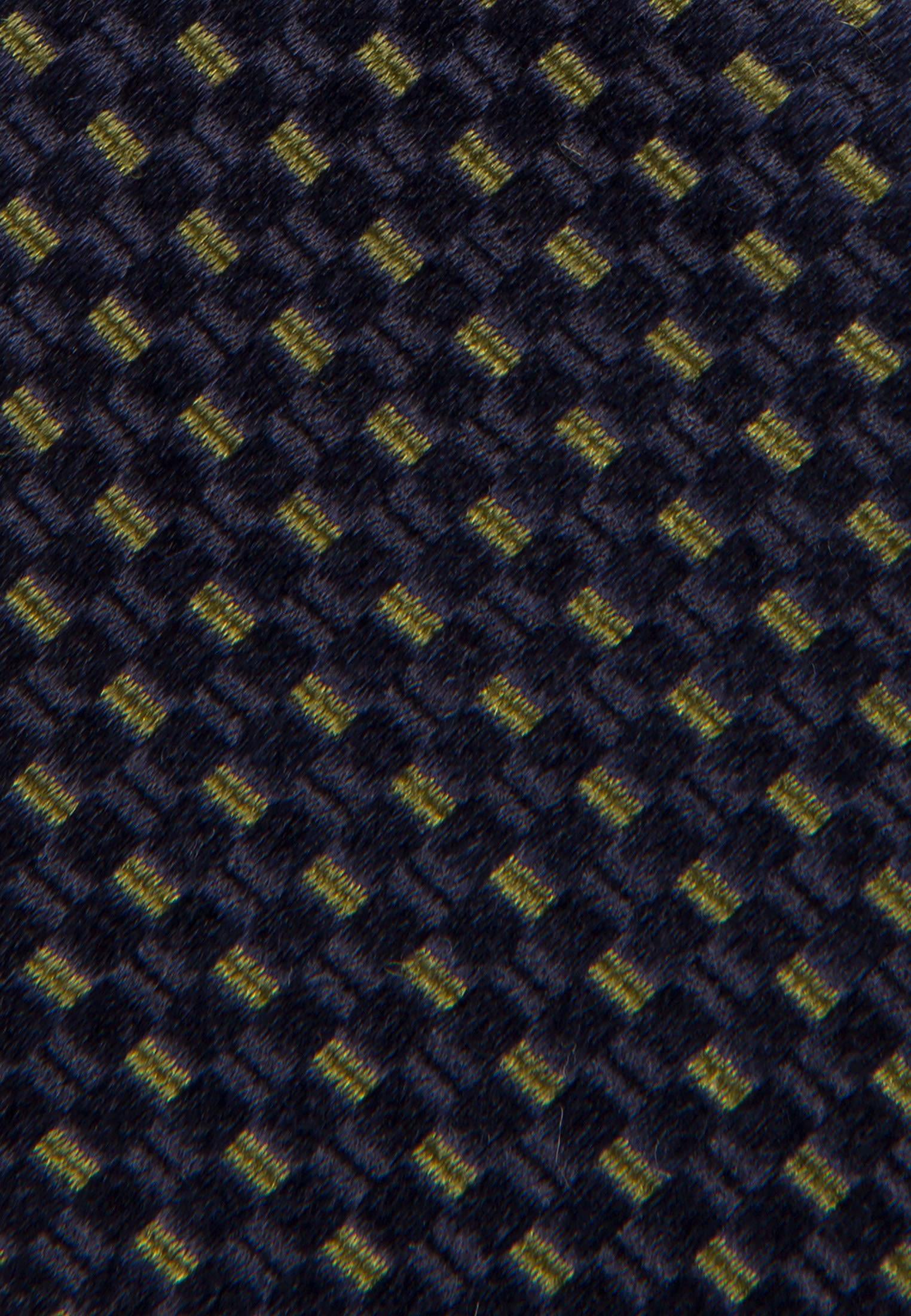 Tie made of 100% Silk 5 cm wide in grün    Seidensticker Onlineshop