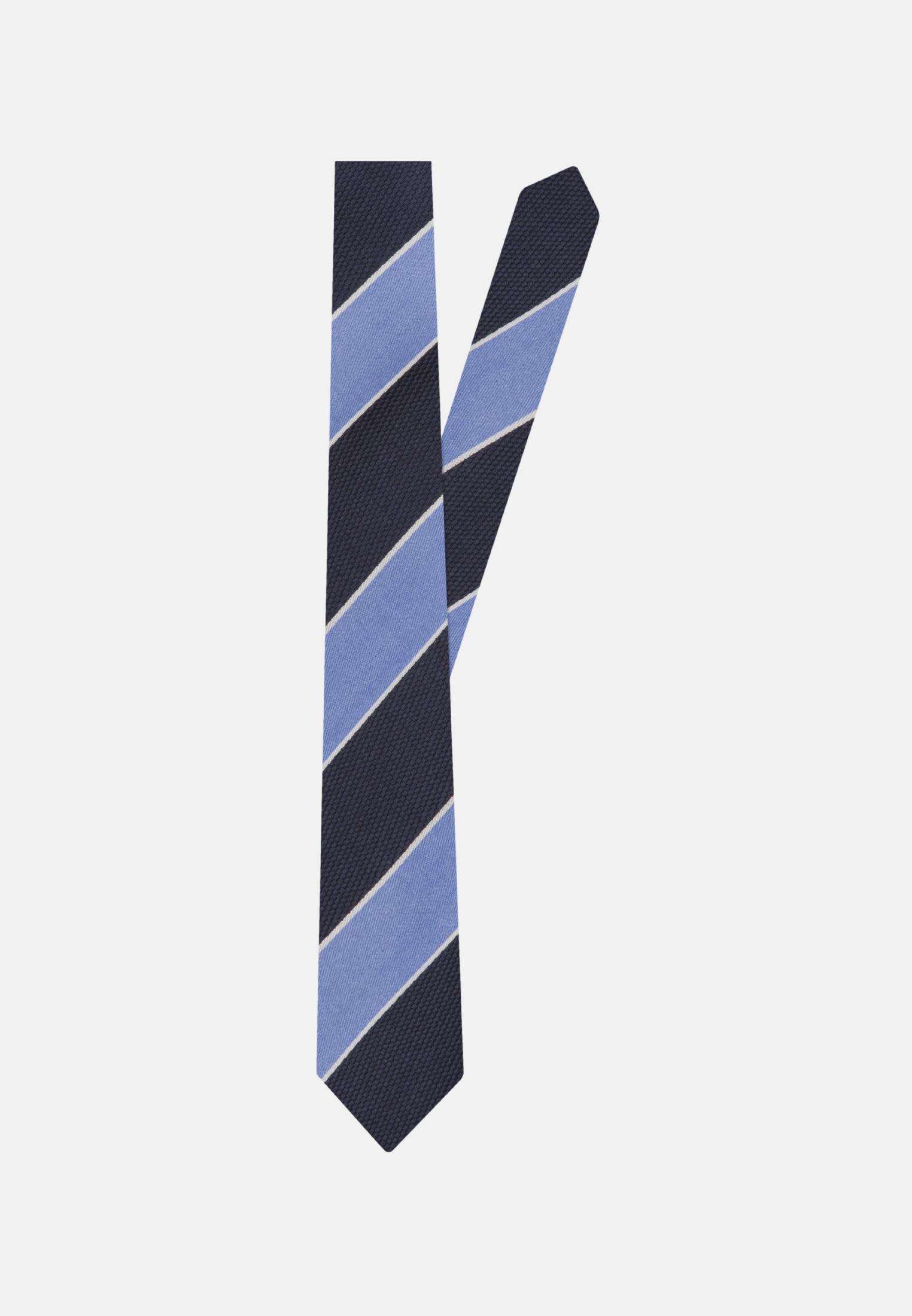 Tie made of 100% Silk 5 cm wide in blau |  Seidensticker Onlineshop