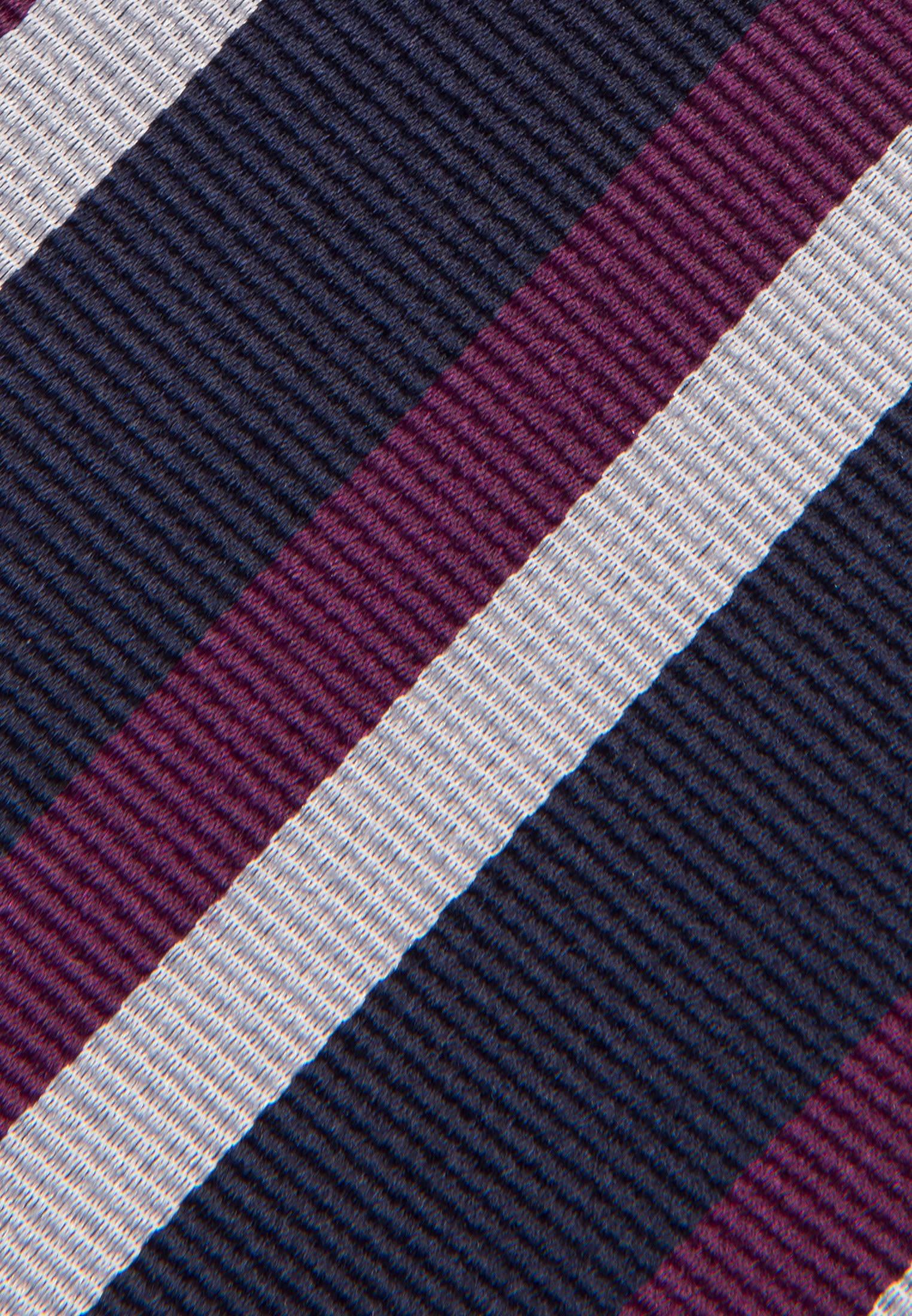 Krawatte aus 100% Seide 7 cm Breit in Lila |  Seidensticker Onlineshop