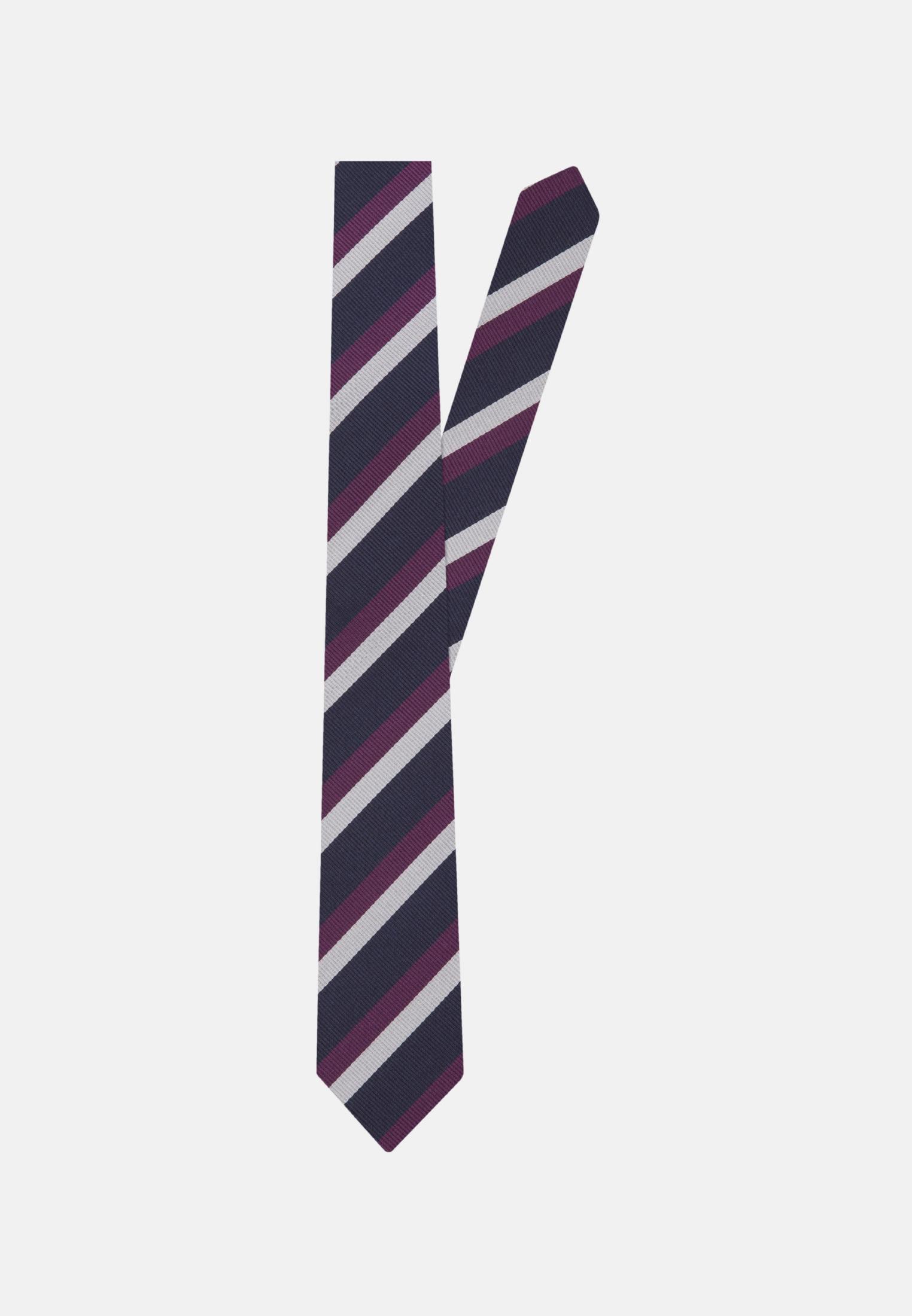 Tie made of 100% Silk 7 cm wide in Purpla |  Seidensticker Onlineshop