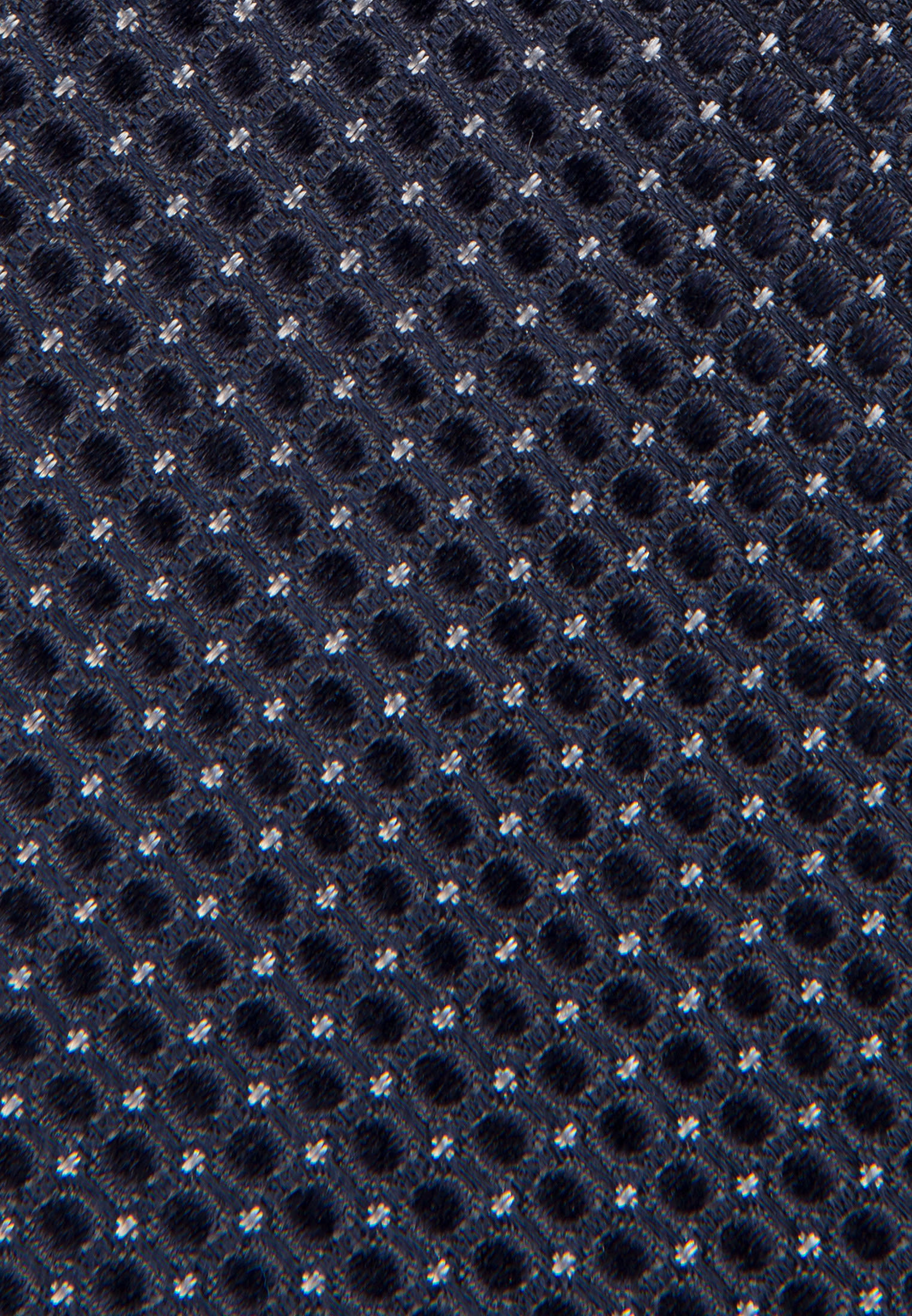 Tie made of 100% Silk 7 cm wide in navy |  Seidensticker Onlineshop