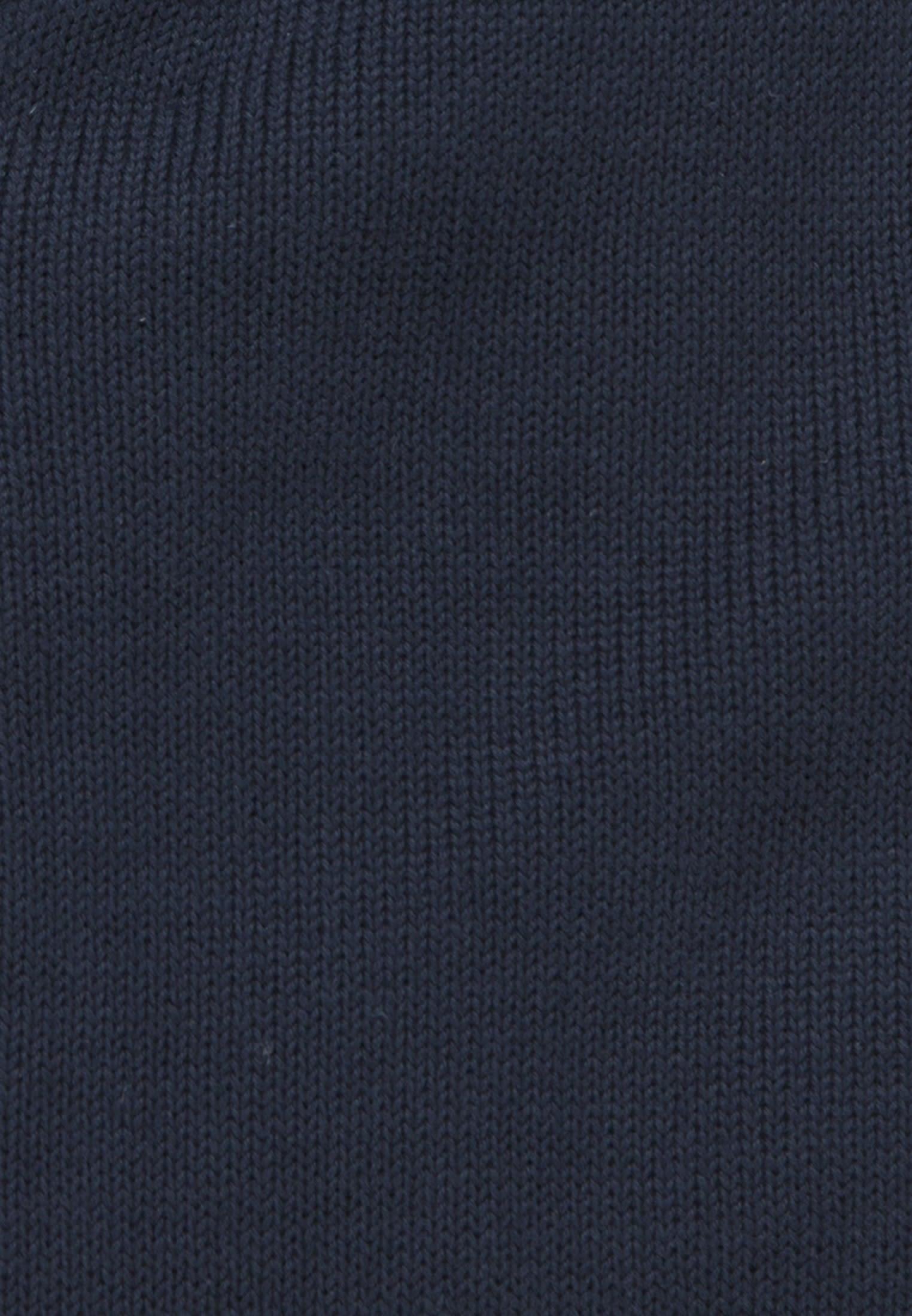 Strick Bomber aus 100% Baumwolle in Dunkelblau |  Seidensticker Onlineshop