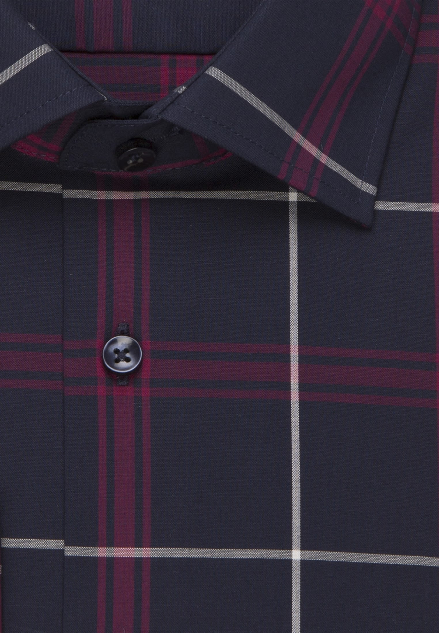 Non-iron Poplin Business Shirt in Comfort with Kent-Collar in lila |  Seidensticker Onlineshop