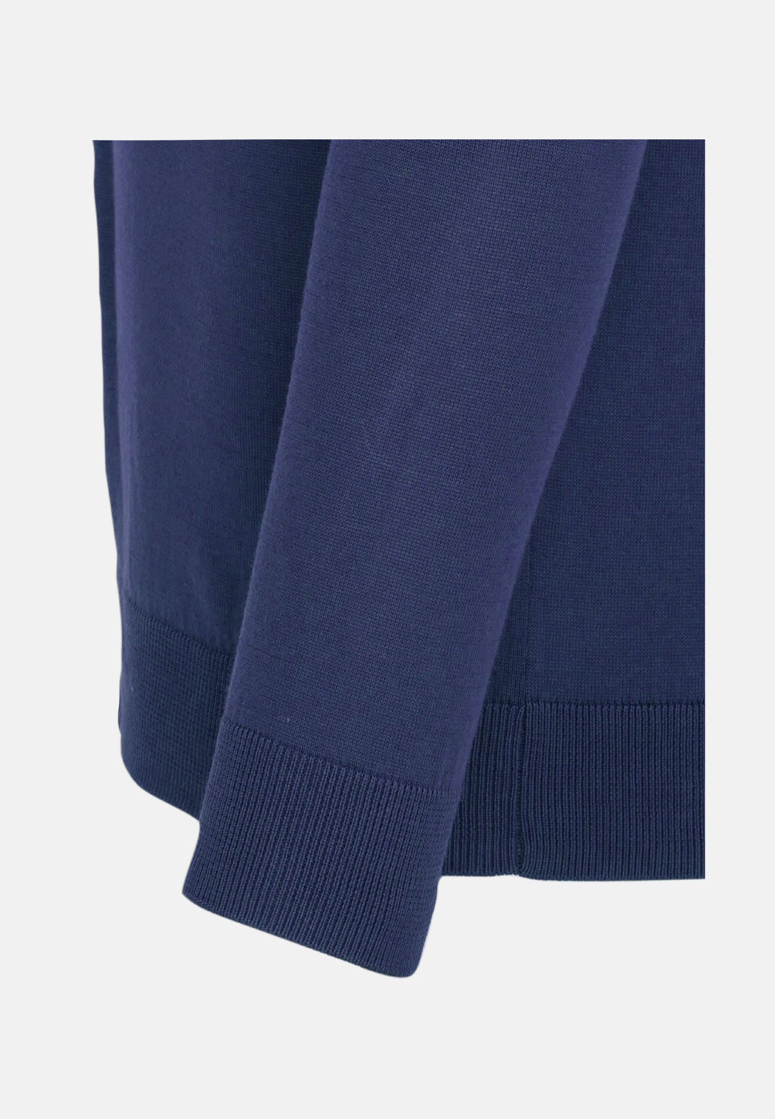 Crew Neck Pullover made of 100% Cotton in Medium blue |  Seidensticker Onlineshop
