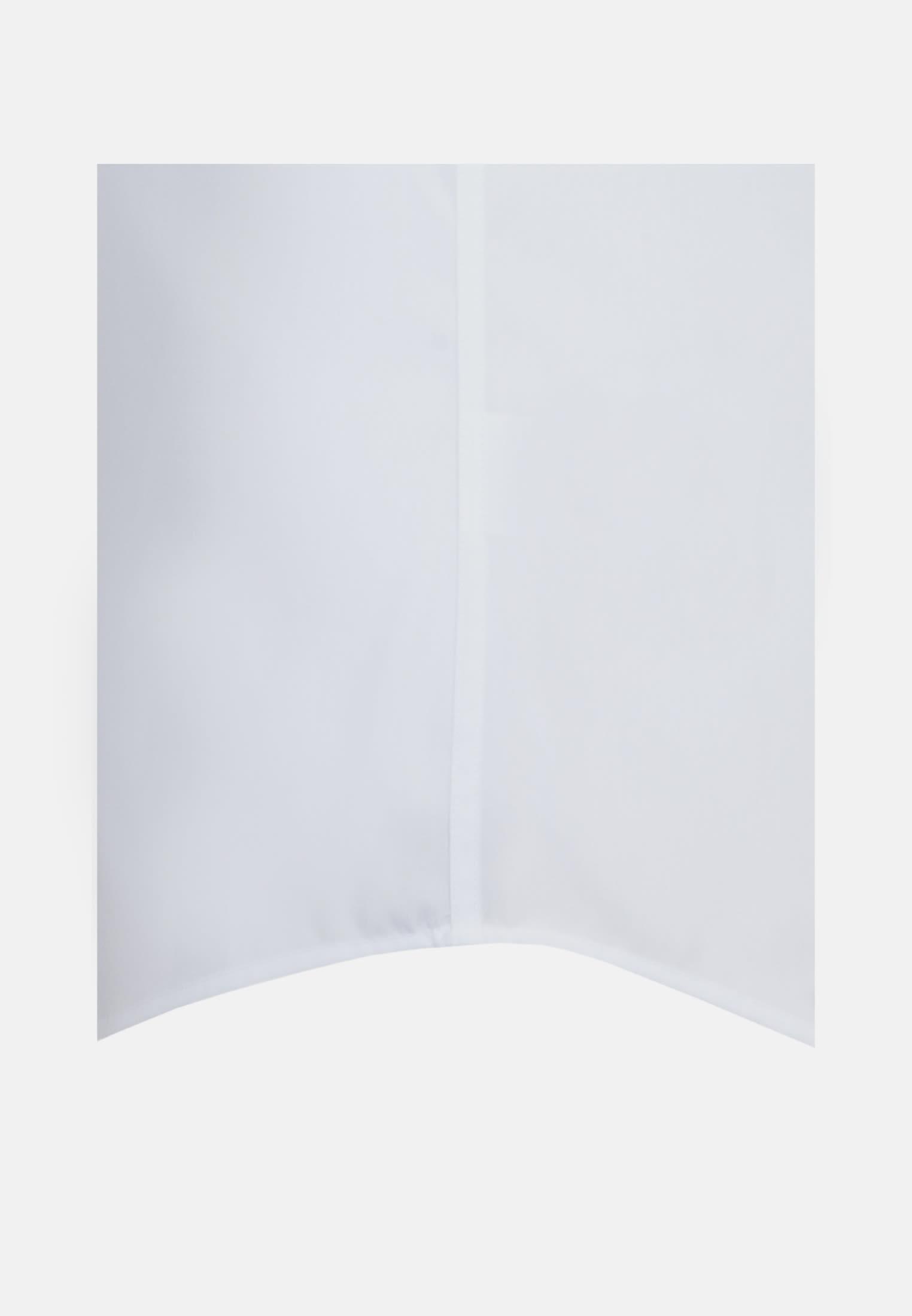Non-iron Poplin Short arm Business Shirt in Tailored with Kent-Collar in White |  Seidensticker Onlineshop