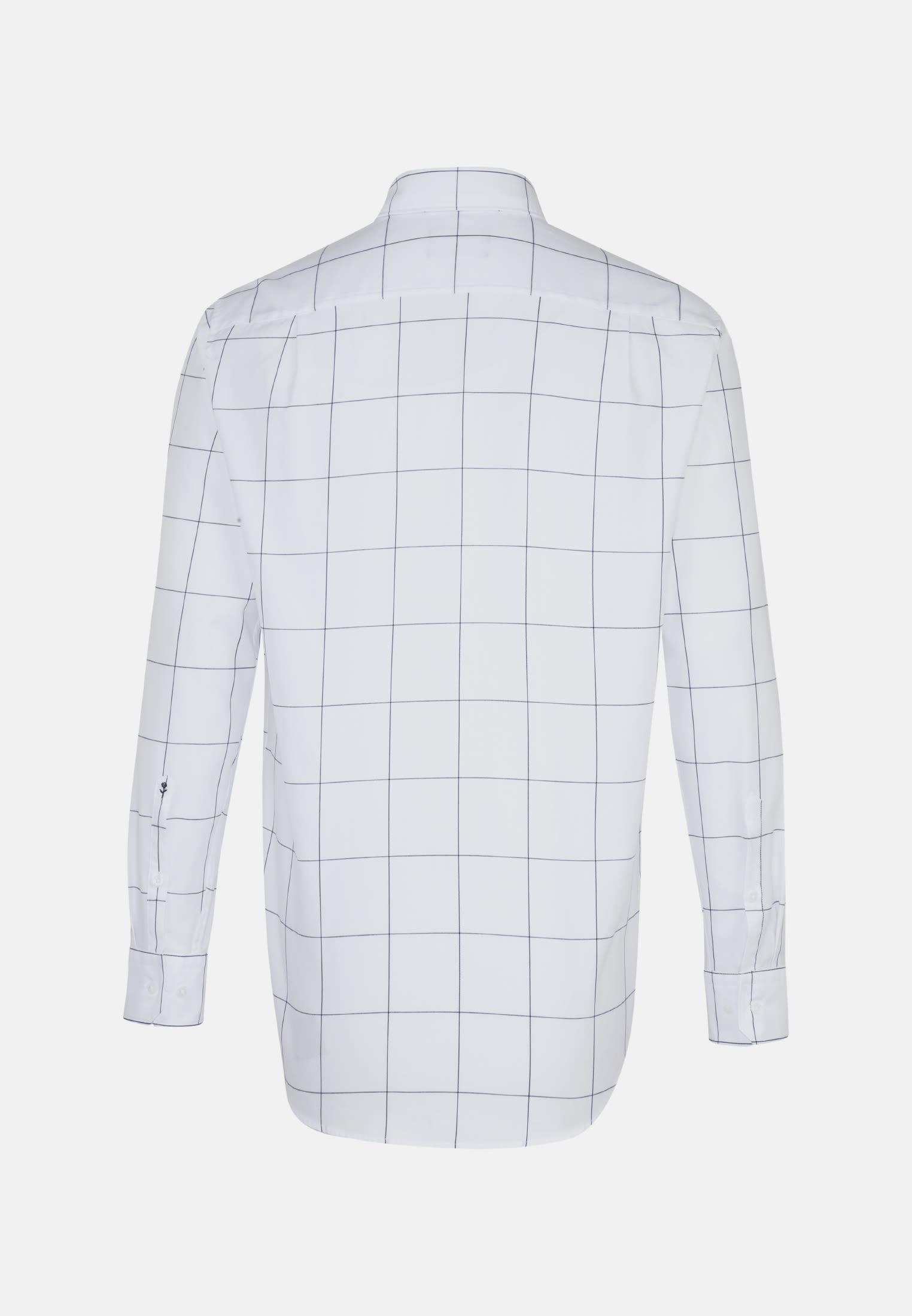 Easy-iron Twill Business Shirt in Comfort with Kent-Collar in Light blue |  Seidensticker Onlineshop