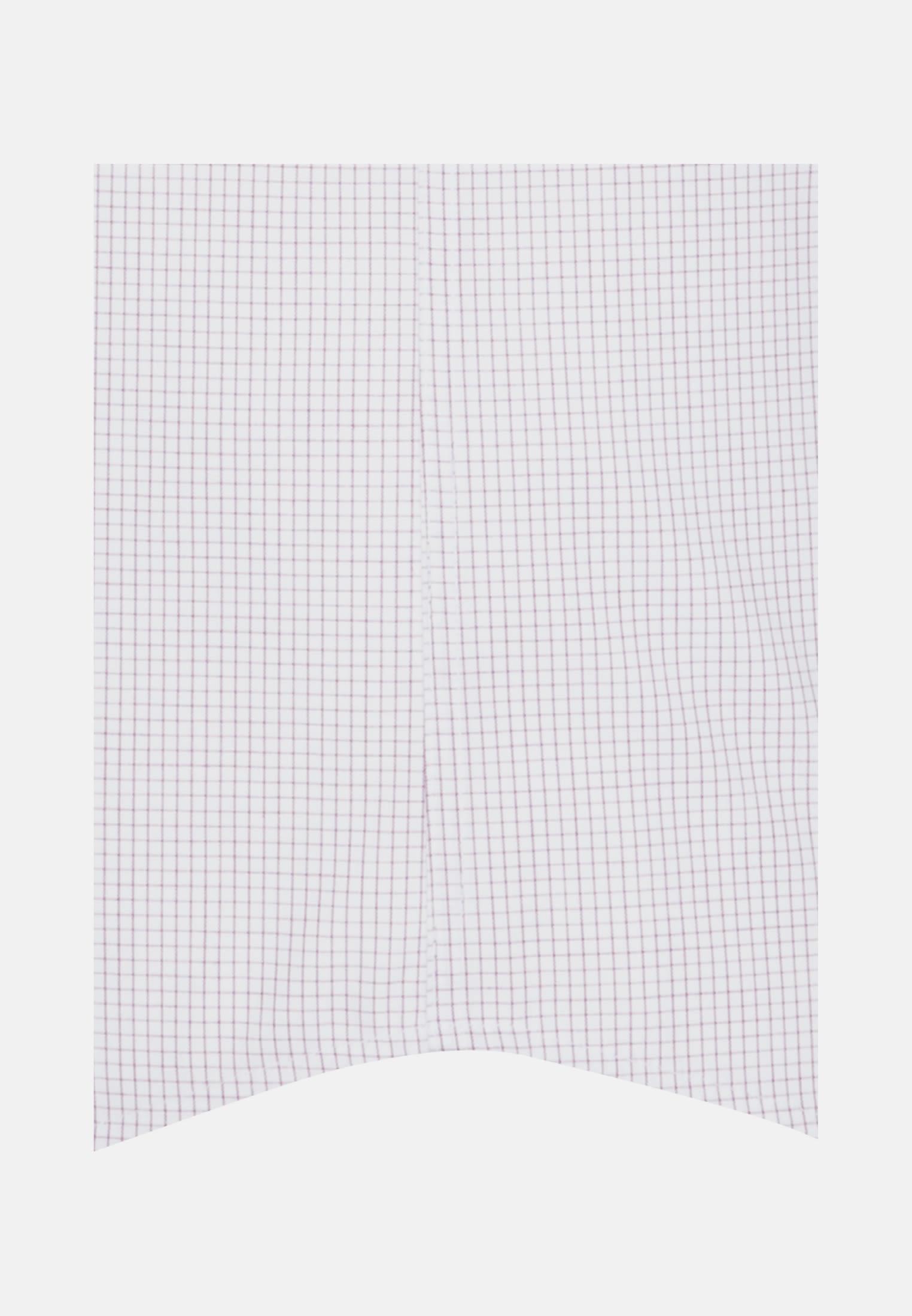 Bügelfreies Popeline Kurzarm Business Hemd in Regular mit Kentkragen in Lila    Seidensticker Onlineshop