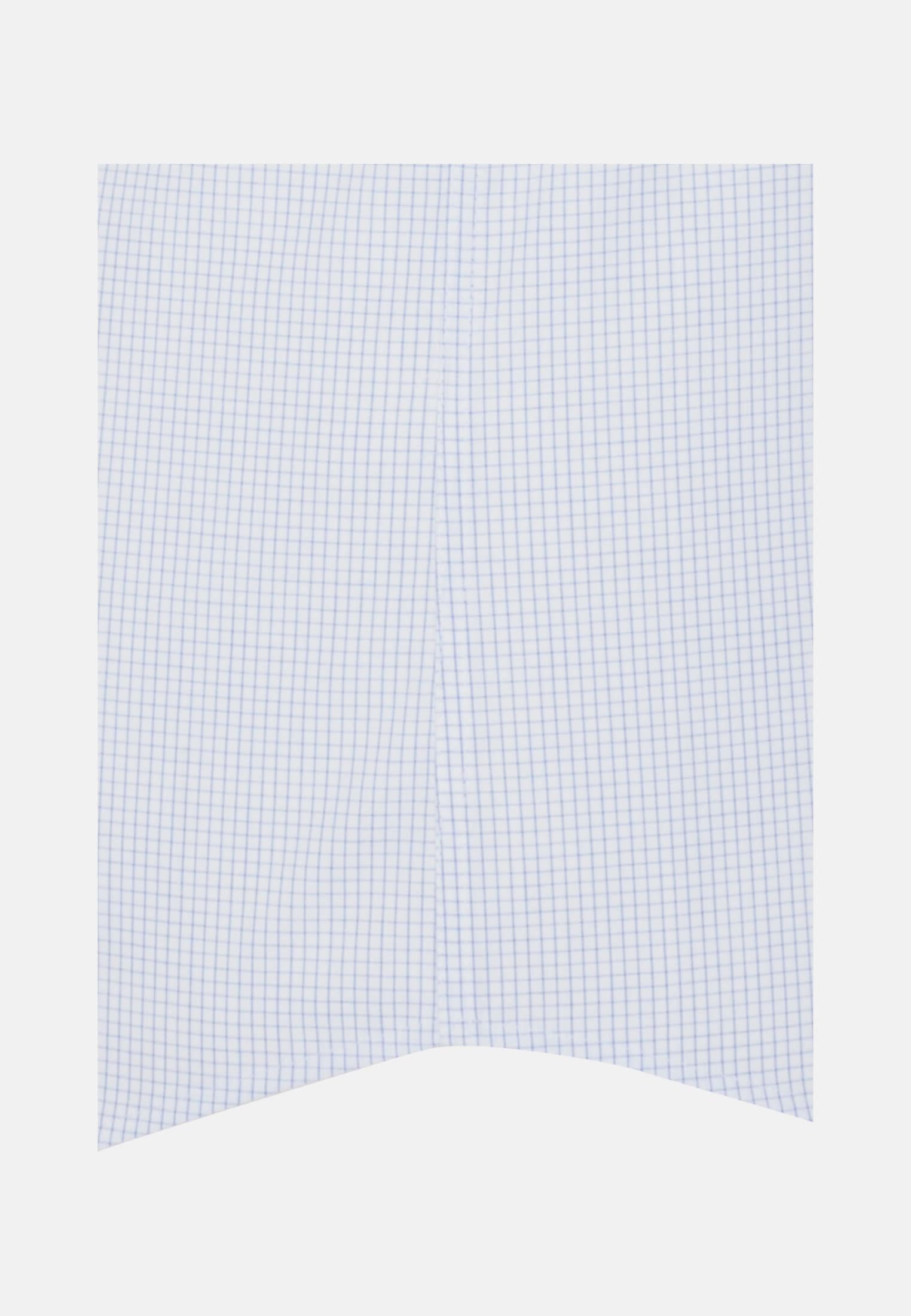Bügelfreies Popeline Kurzarm Business Hemd in Modern mit Kentkragen in Hellblau    Seidensticker Onlineshop