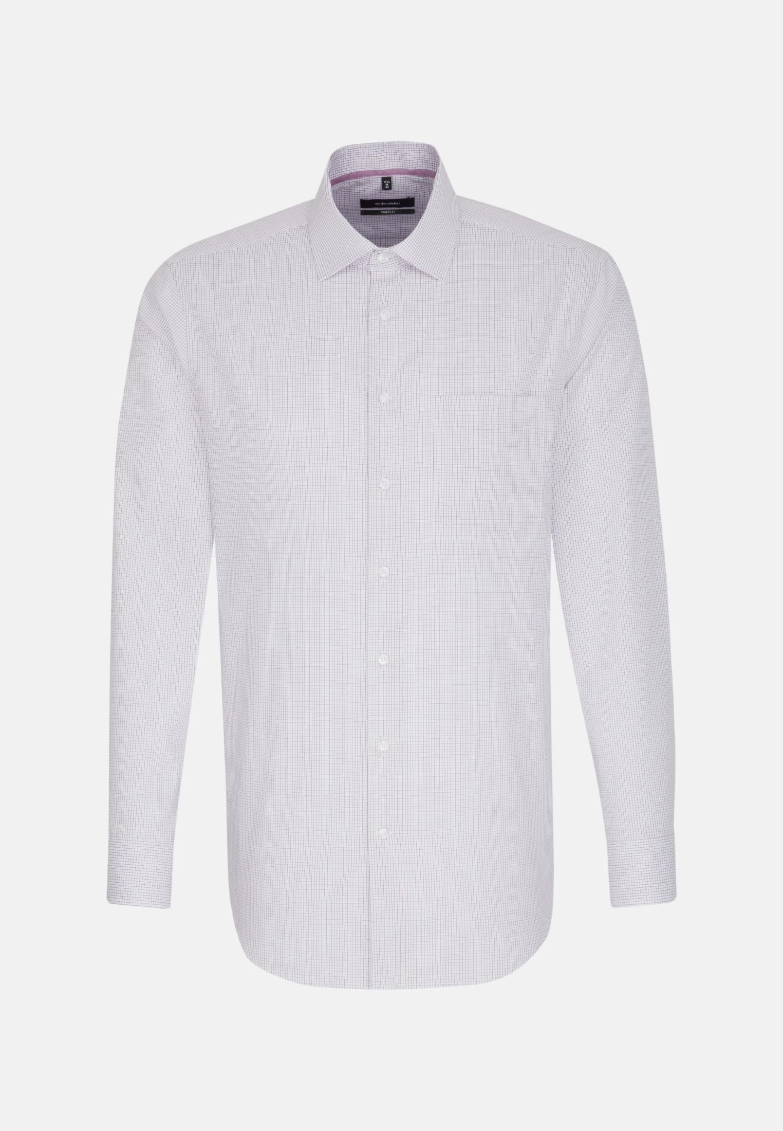 Non-iron Poplin Business Shirt in Comfort with Kent-Collar in Purpla |  Seidensticker Onlineshop