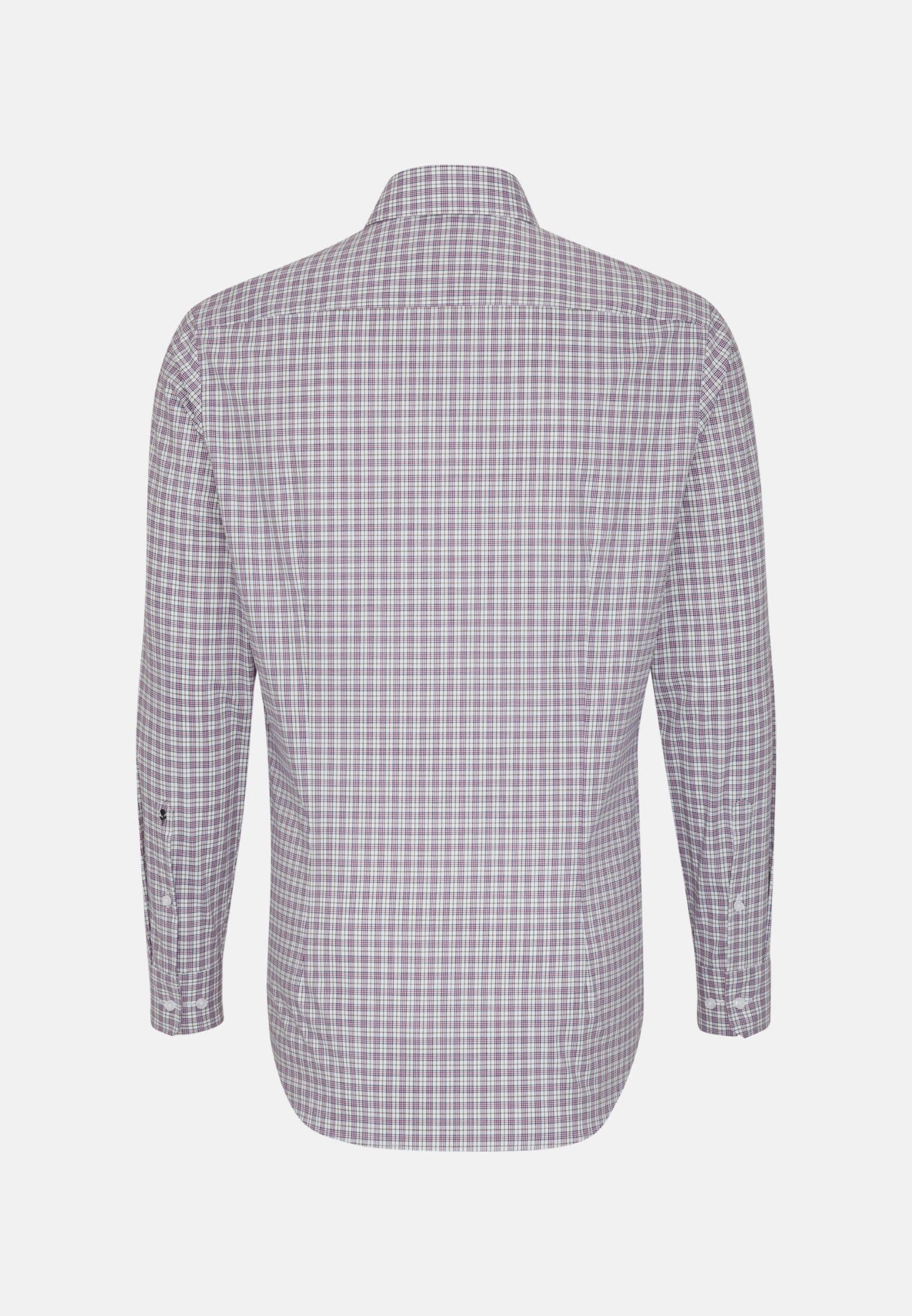 Bügelfreies Popeline Business Hemd in Tailored mit Kentkragen in Grün    Seidensticker Onlineshop