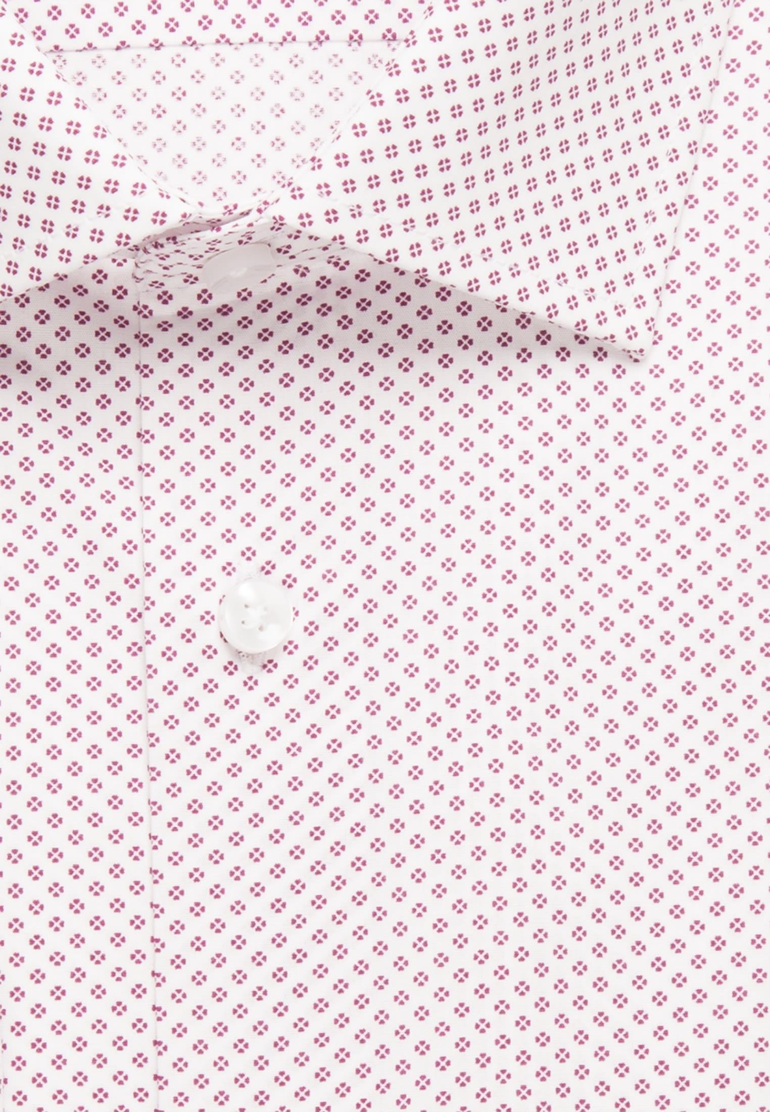 Bügelleichtes Popeline Business Hemd in Comfort mit Kentkragen in Lila    Seidensticker Onlineshop