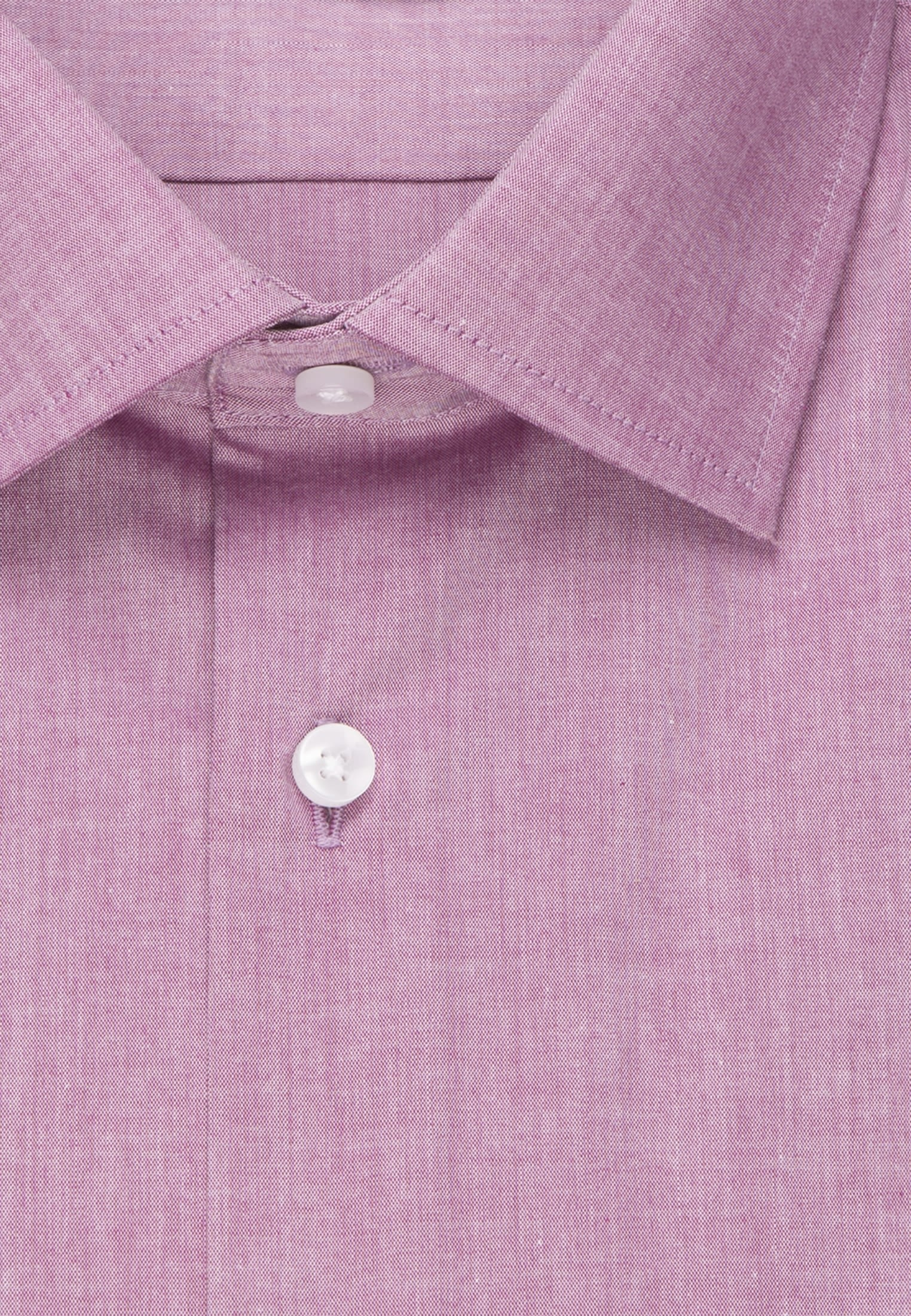 Non-iron Chambray Short arm Business Shirt in Slim with Kent-Collar in Purpla |  Seidensticker Onlineshop