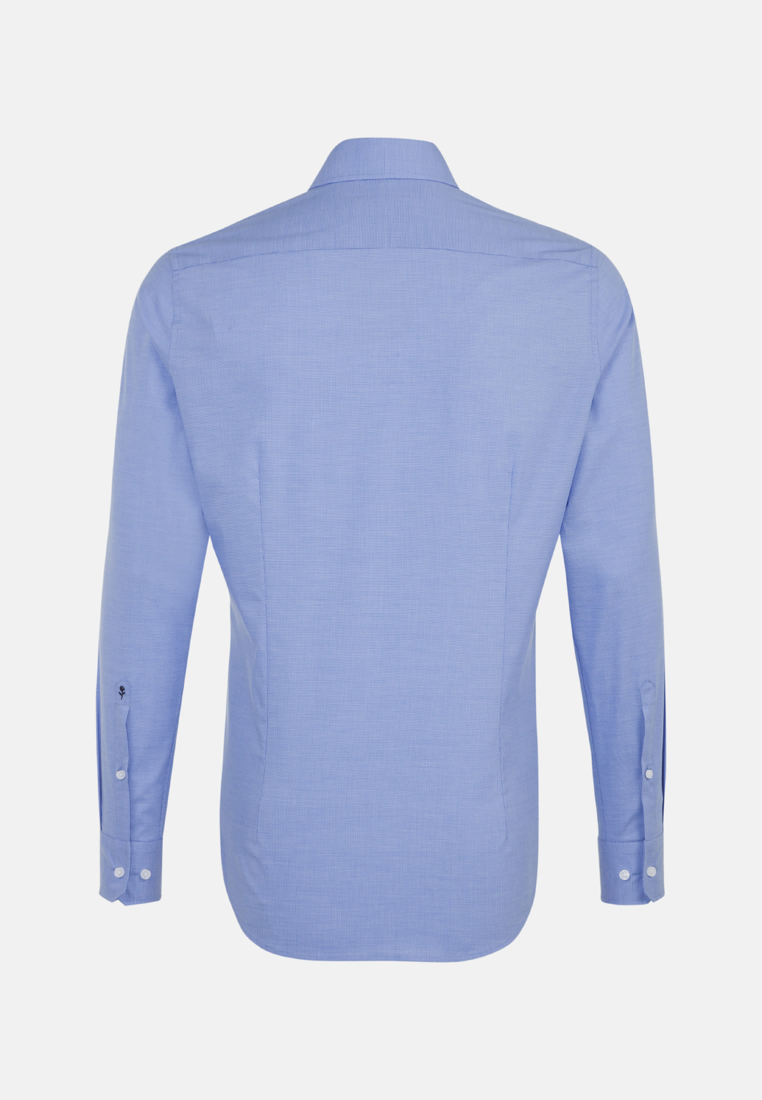 Easy-iron Structure Business Shirt in Slim with Kent-Collar in Light blue |  Seidensticker Onlineshop