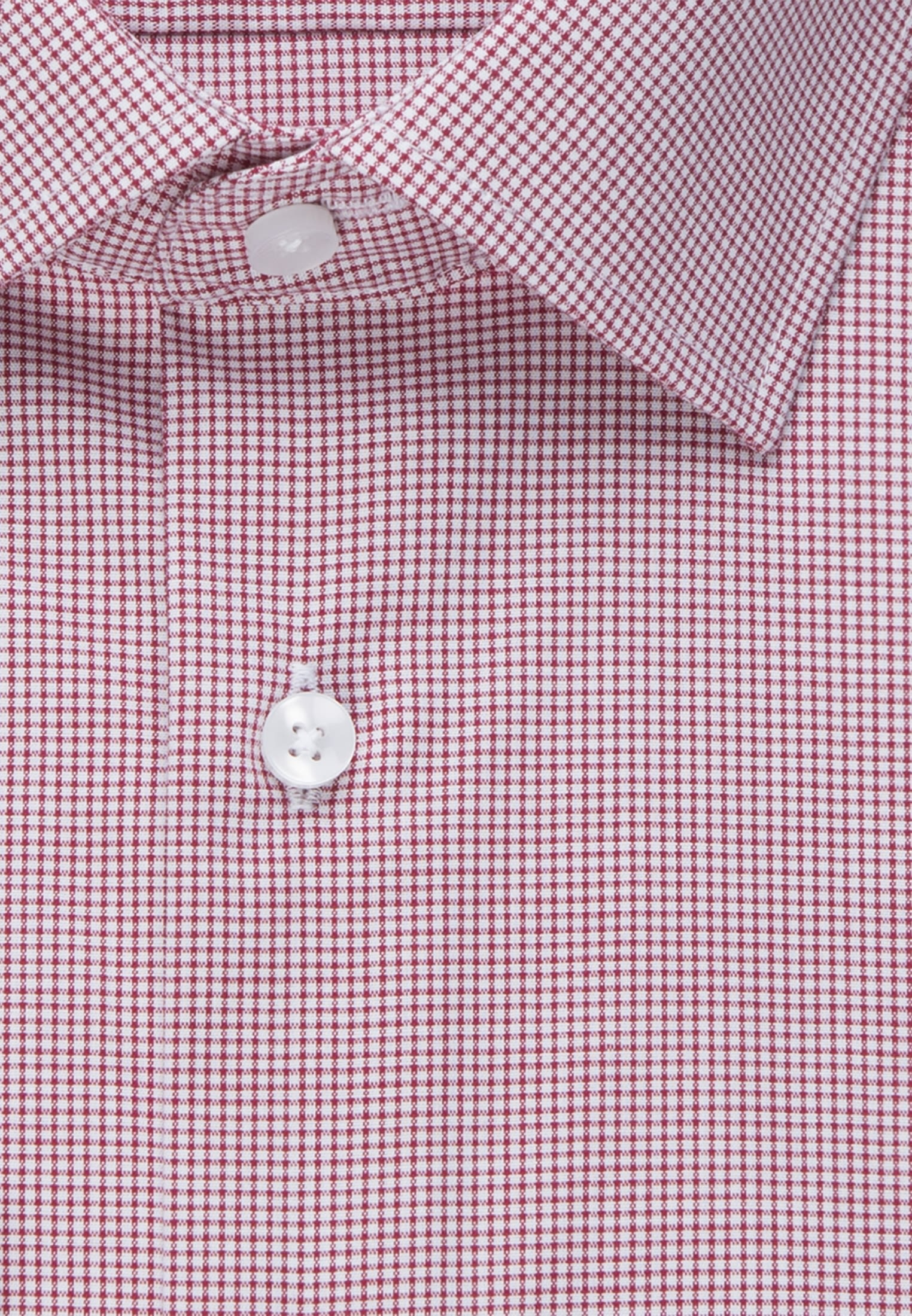 Non-iron Poplin Business Shirt in Slim with Kent-Collar and extra long arm in Red |  Seidensticker Onlineshop