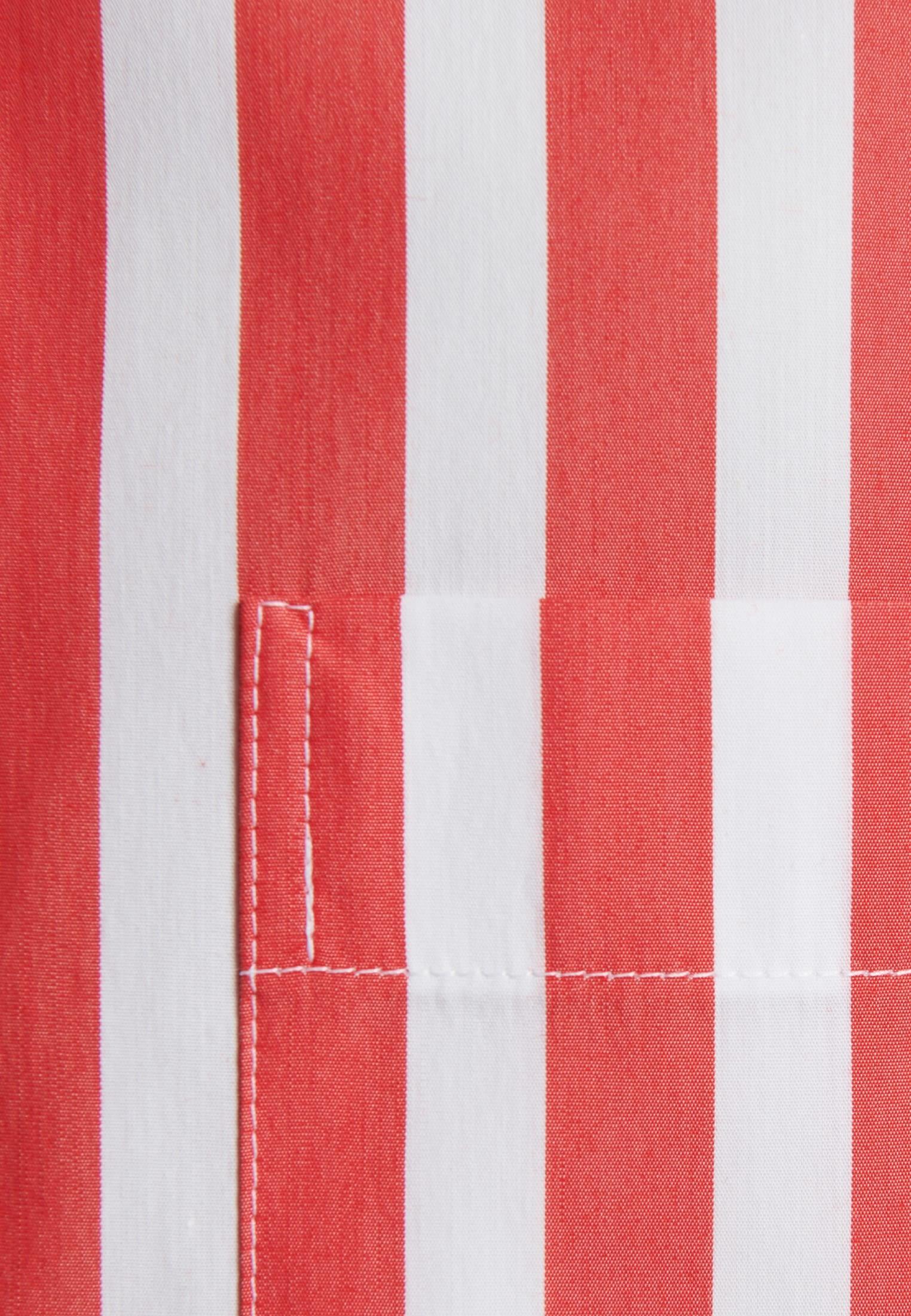 Popeline Stehkragenbluse aus Baumwollmischung in Rot |  Seidensticker Onlineshop