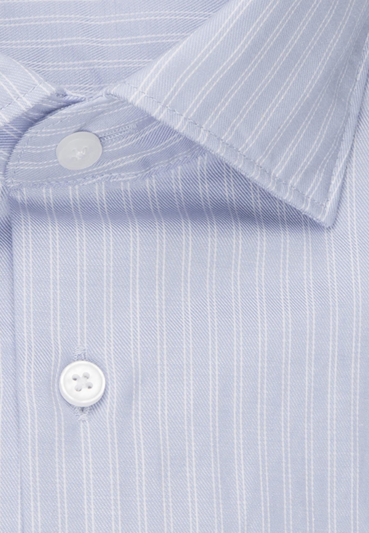 Easy-iron Twill Business Shirt in Modern with Kent-Collar in blau    Seidensticker Onlineshop