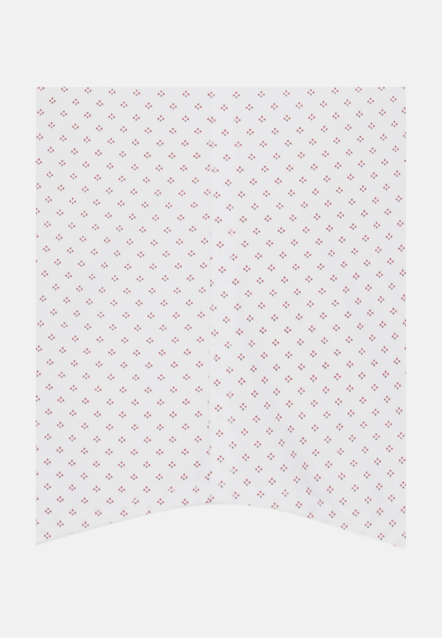 Bügelleichtes Popeline Kurzarm Business Hemd in Regular mit Kentkragen in Rot    Seidensticker Onlineshop
