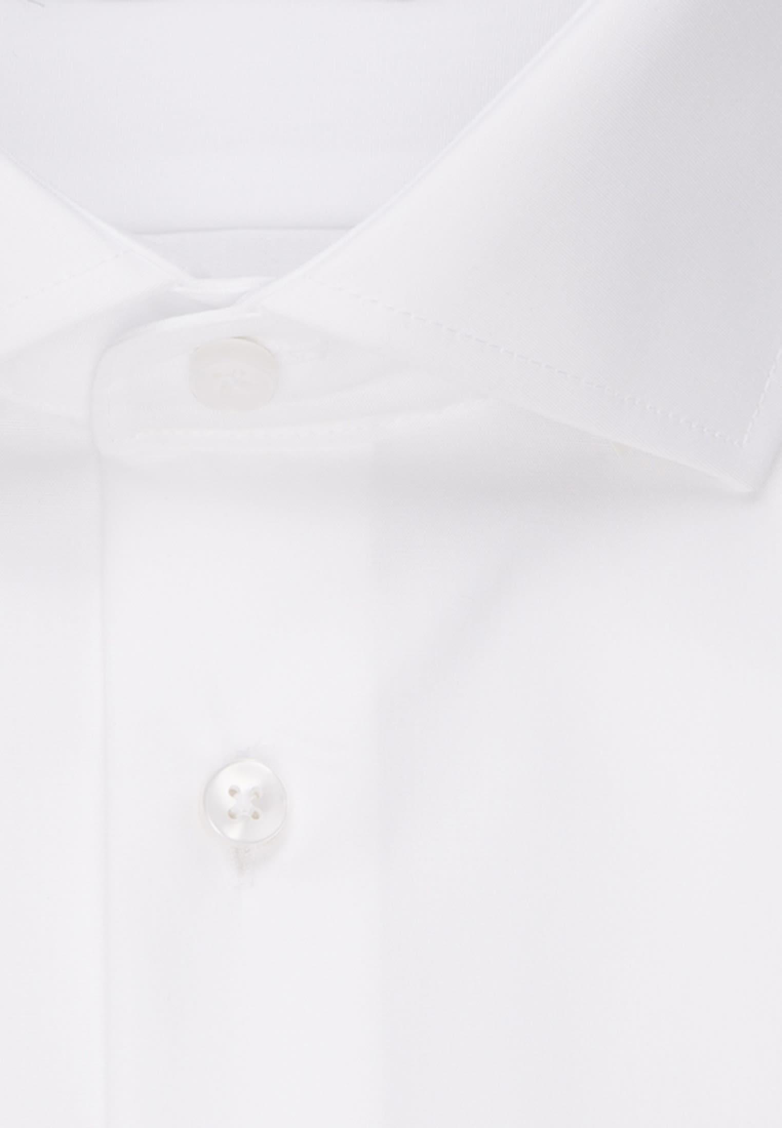 Non-iron Poplin Business Shirt in Modern with Kent-Collar in weiß |  Seidensticker Onlineshop