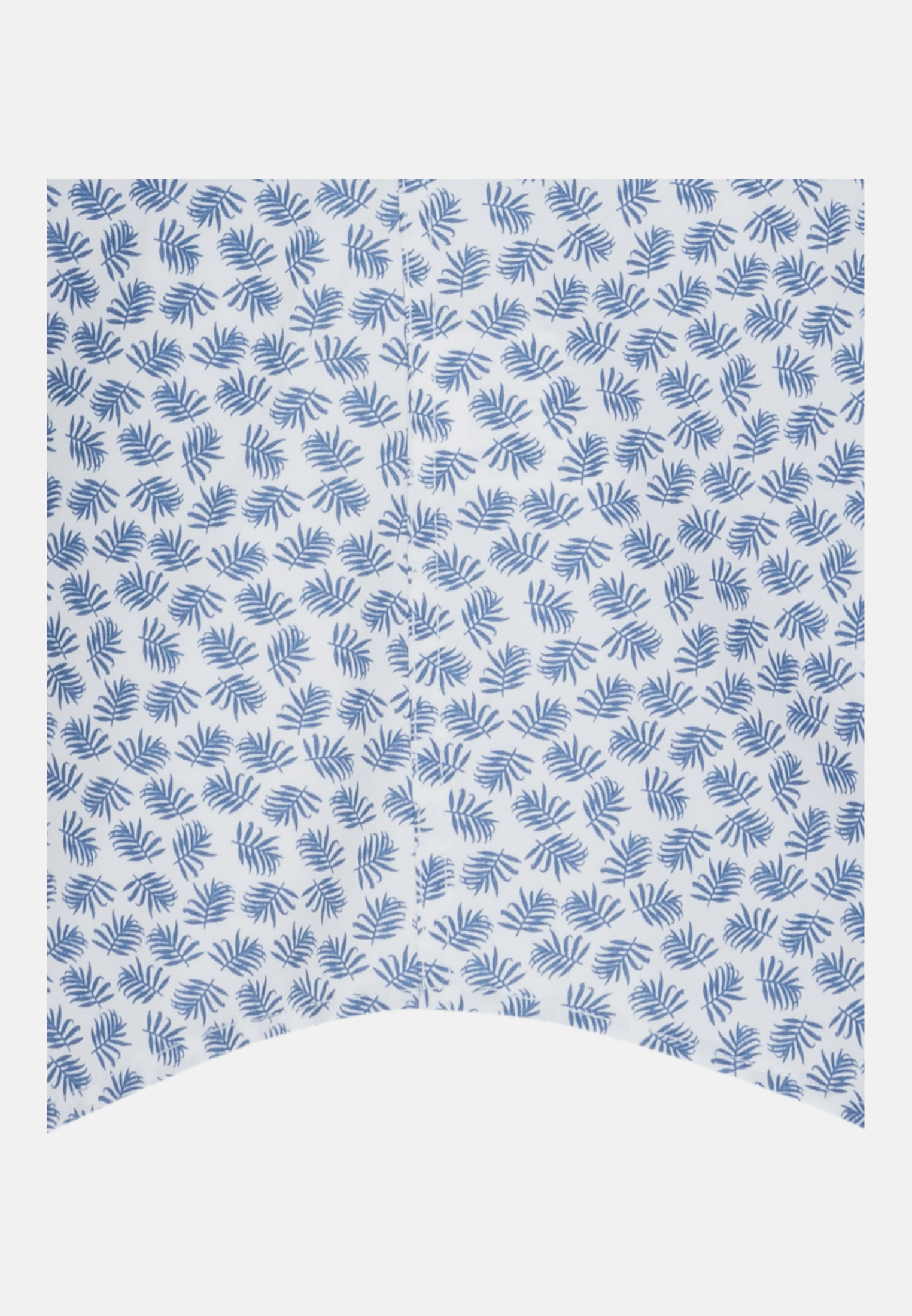 Bügelleichtes Popeline Kurzarm Business Hemd in Shaped mit Covered-Button-Down-Kragen in Mittelblau |  Seidensticker Onlineshop