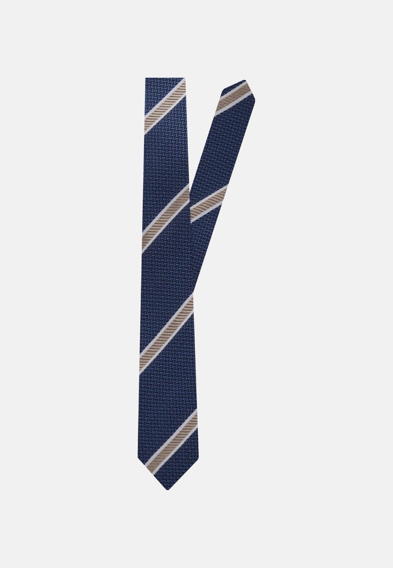 Tie made of 100% Silk 5 cm wide in beige    Seidensticker Onlineshop