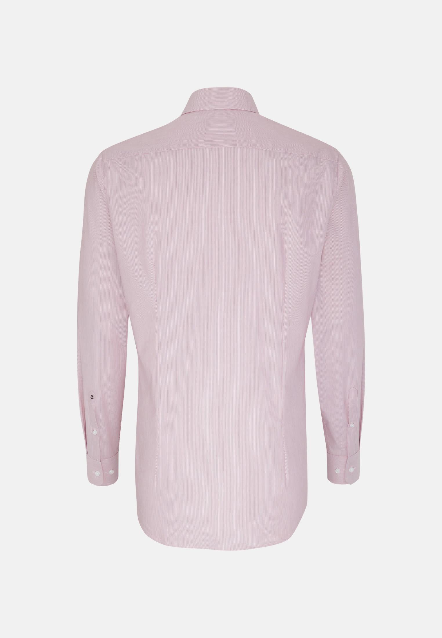 Bügelfreies Popeline Business Hemd in X-Slim mit Kentkragen und extra langem Arm in Rot    Seidensticker Onlineshop