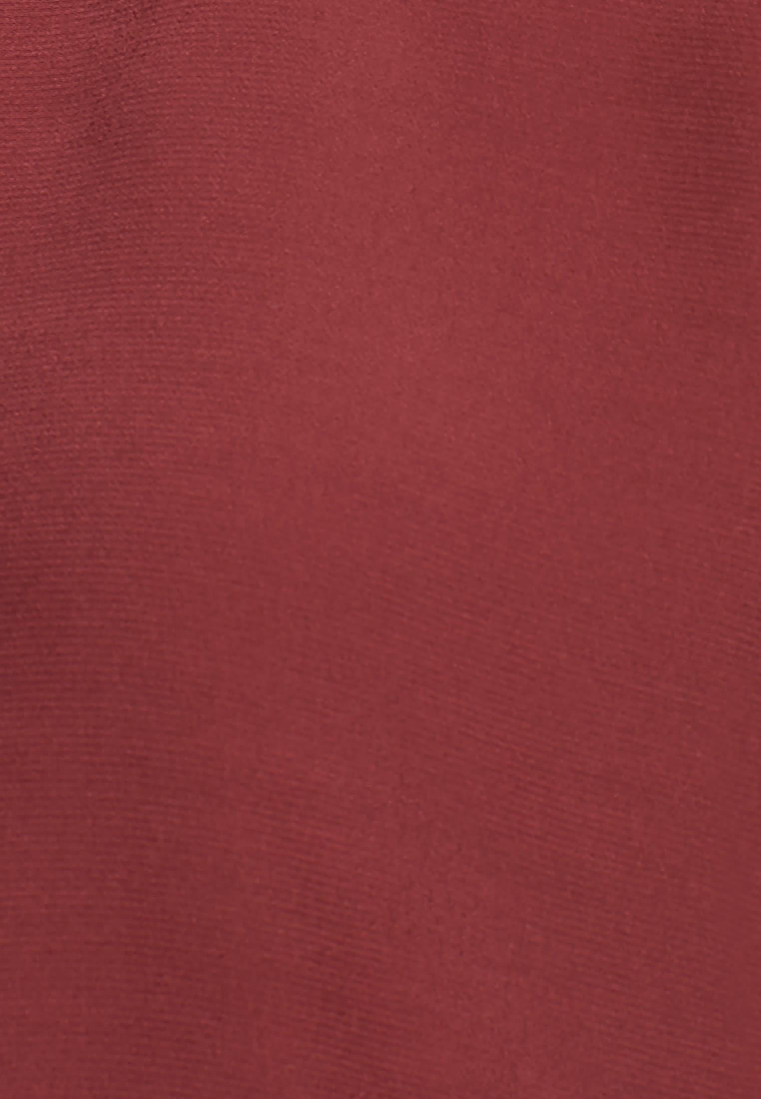 Kurzarm Krepp Shirtbluse aus 100% Viskose in Braun    Seidensticker Onlineshop