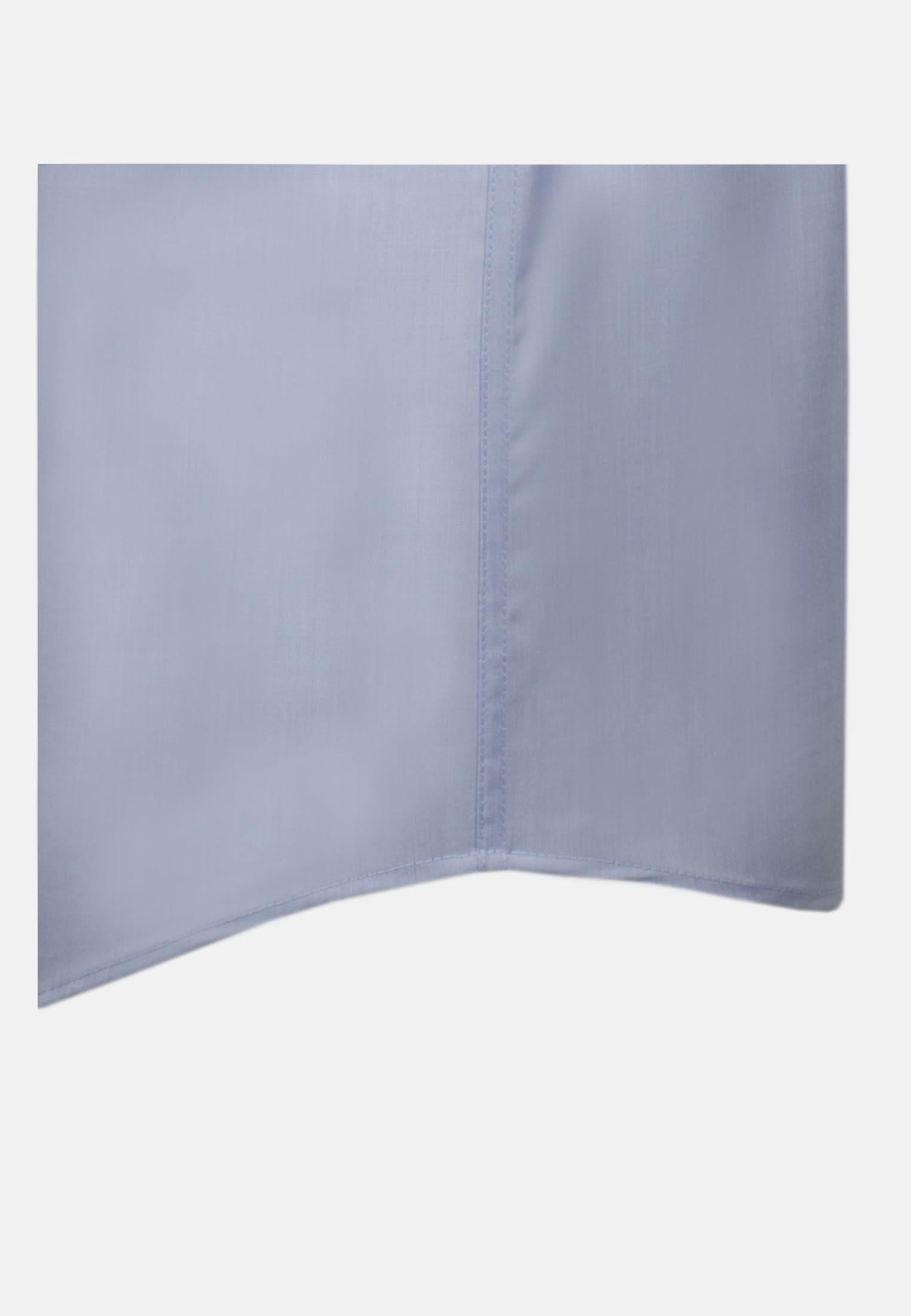 Non-iron Chambray Short arm Business Shirt in Comfort with Kent-Collar in hellblau |  Seidensticker Onlineshop