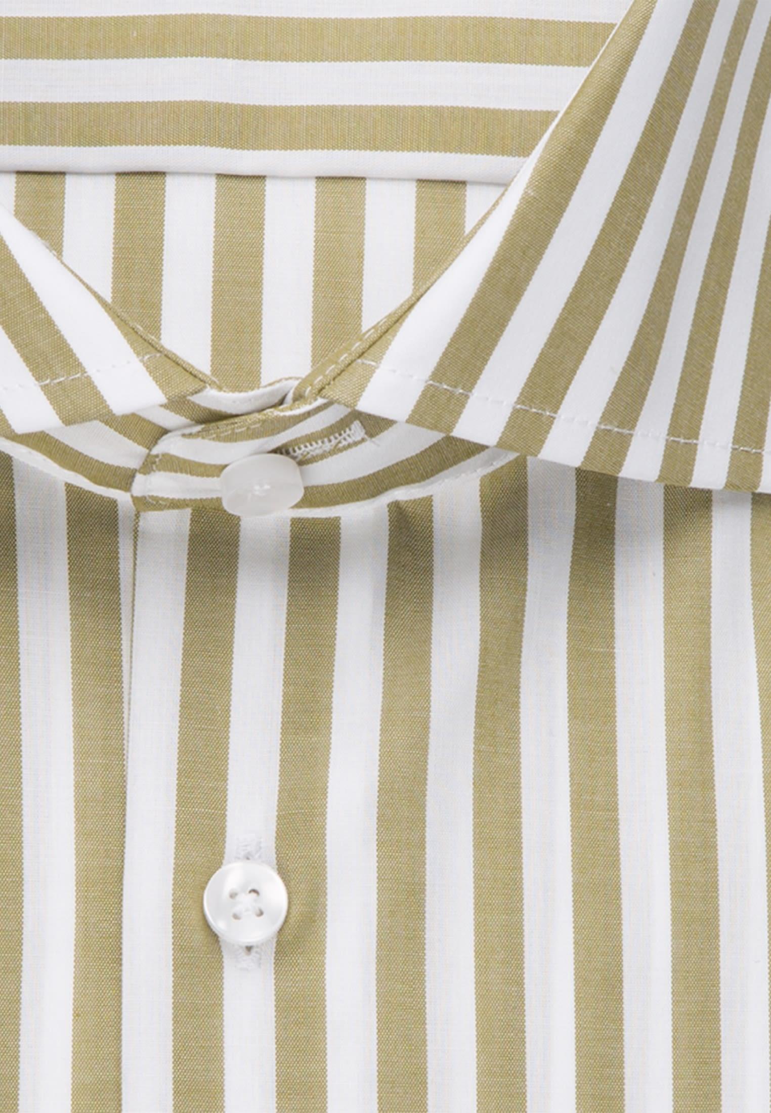 Non-iron Poplin Business Shirt in Modern with Kent-Collar in grün |  Seidensticker Onlineshop