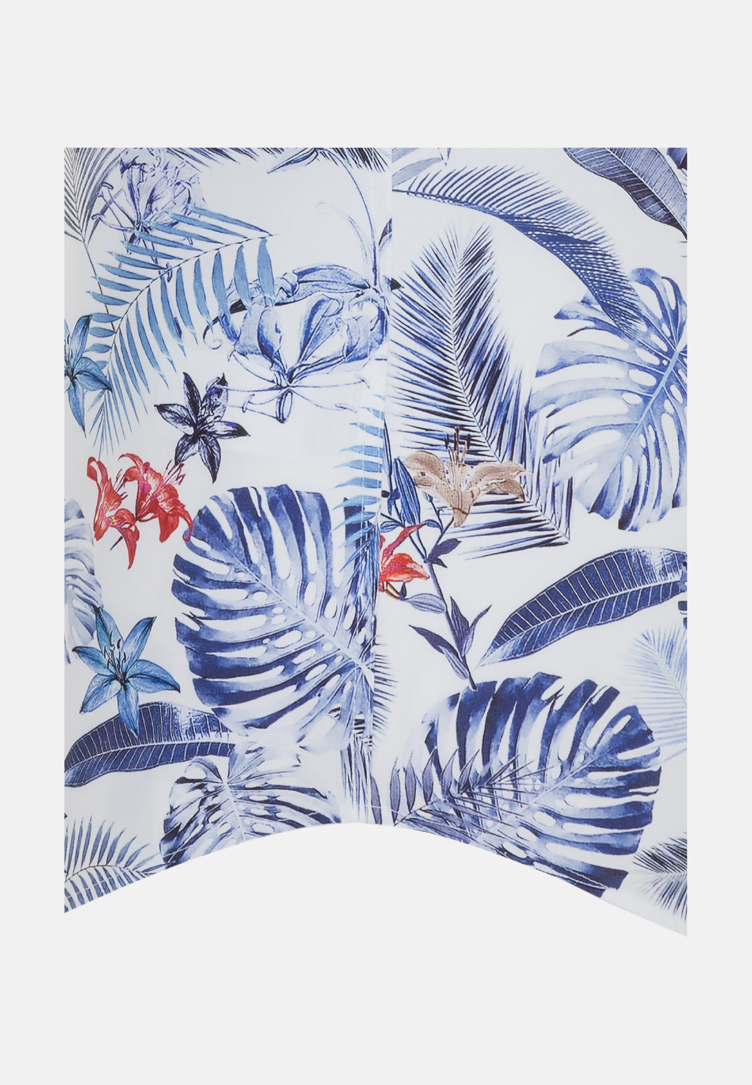 Easy-iron Poplin Short sleeve Business Shirt in Comfort with Button-Down-Collar in Medium blue |  Seidensticker Onlineshop