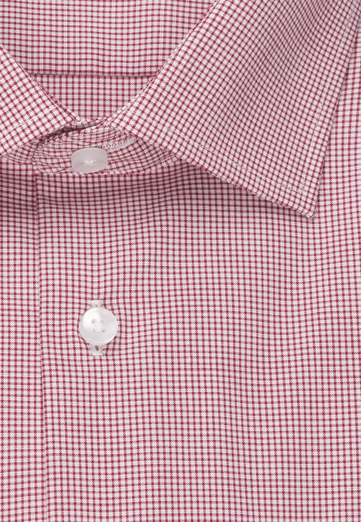 Non-iron Poplin Business Shirt in Modern with Kent-Collar in rot |  Seidensticker Onlineshop