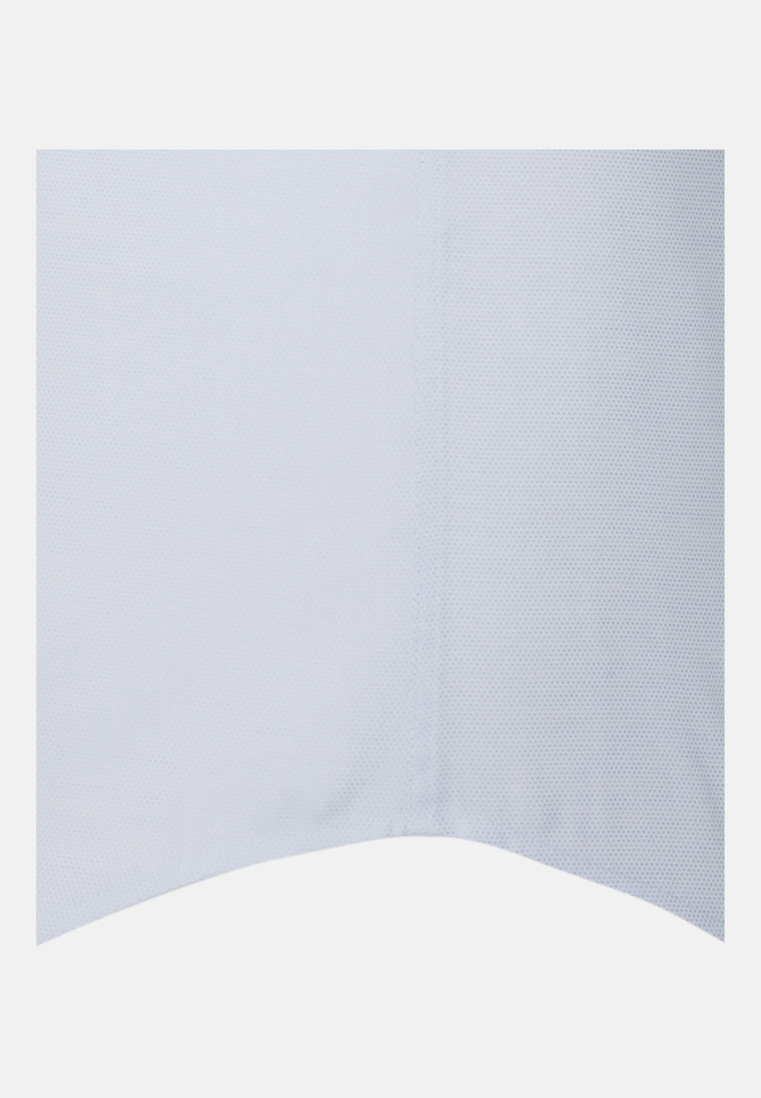 Bügelleichtes Struktur Kurzarm Business Hemd in Slim mit Kentkragen in Hellblau |  Seidensticker Onlineshop